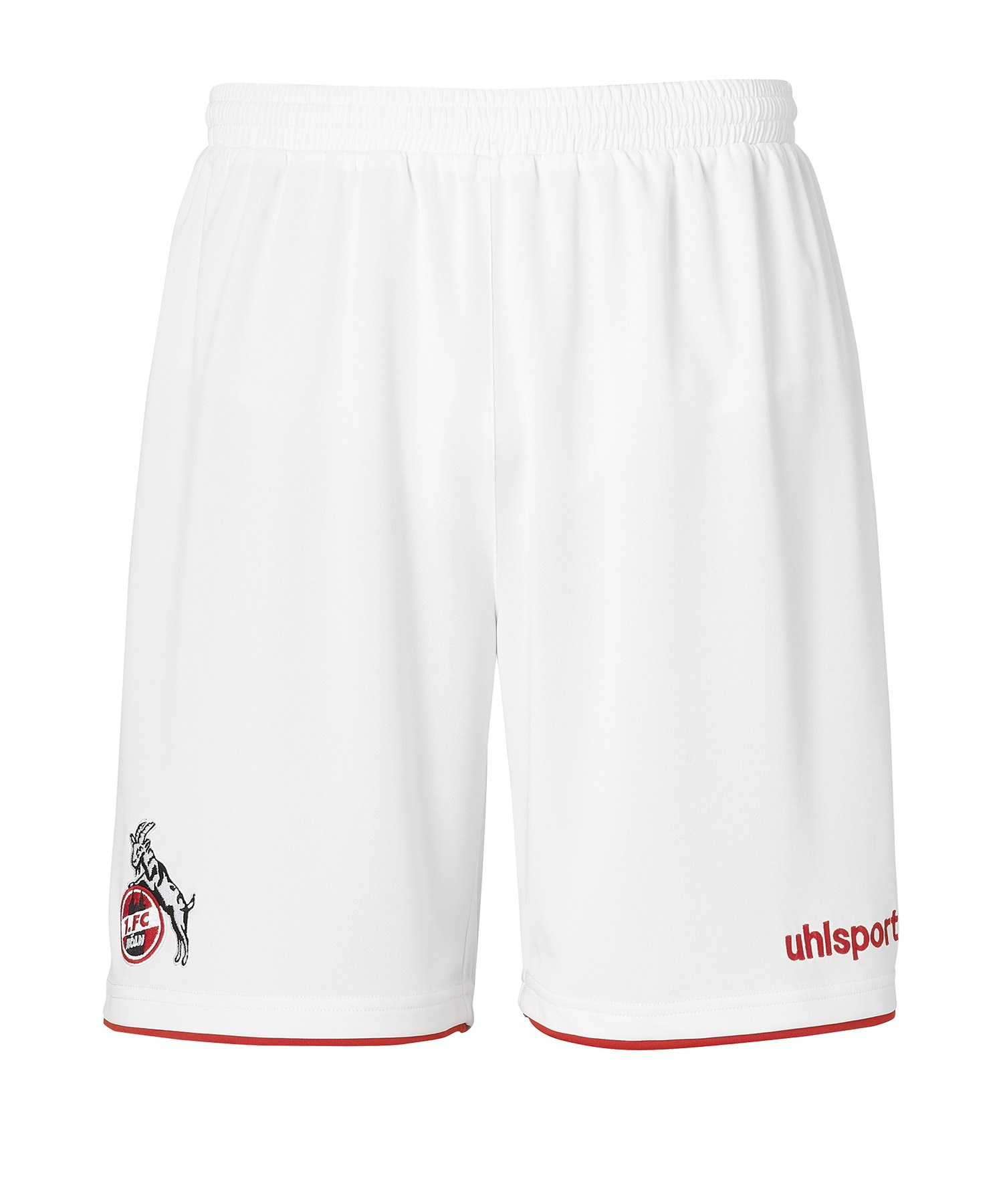 Uhlsport 1. FC Köln Short Home 19/20 Kids Weiss - weiss