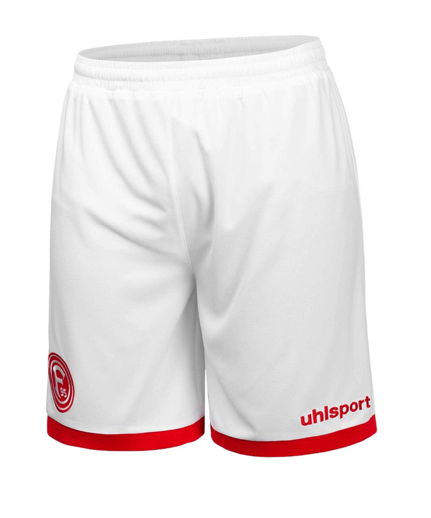 Uhlsport Fortuna Düsseldorf Short Home 2019/2020 Weiss - weiss