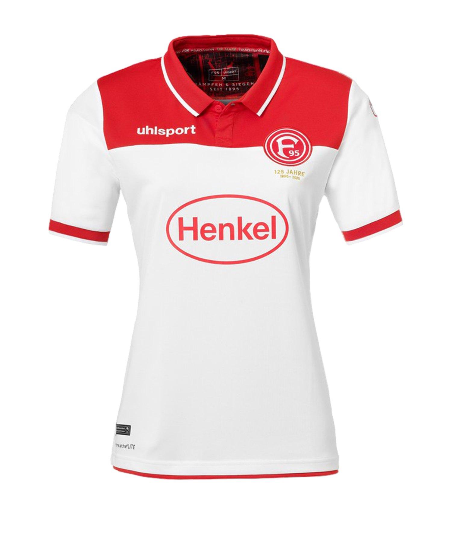 Uhlsport Fortuna Düsseldorf Trikot Home 2019/2020 Damen Weiss - weiss