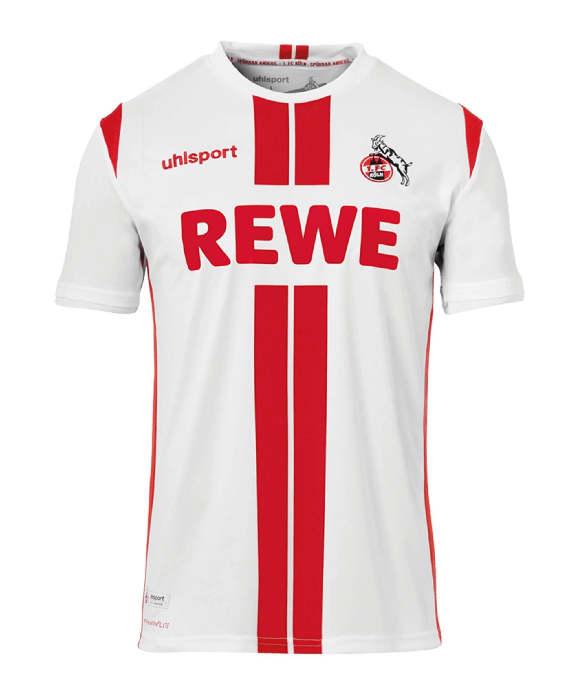 Uhlsport 1. FC Köln Trikot Home 2020/2021 Weiss - rot