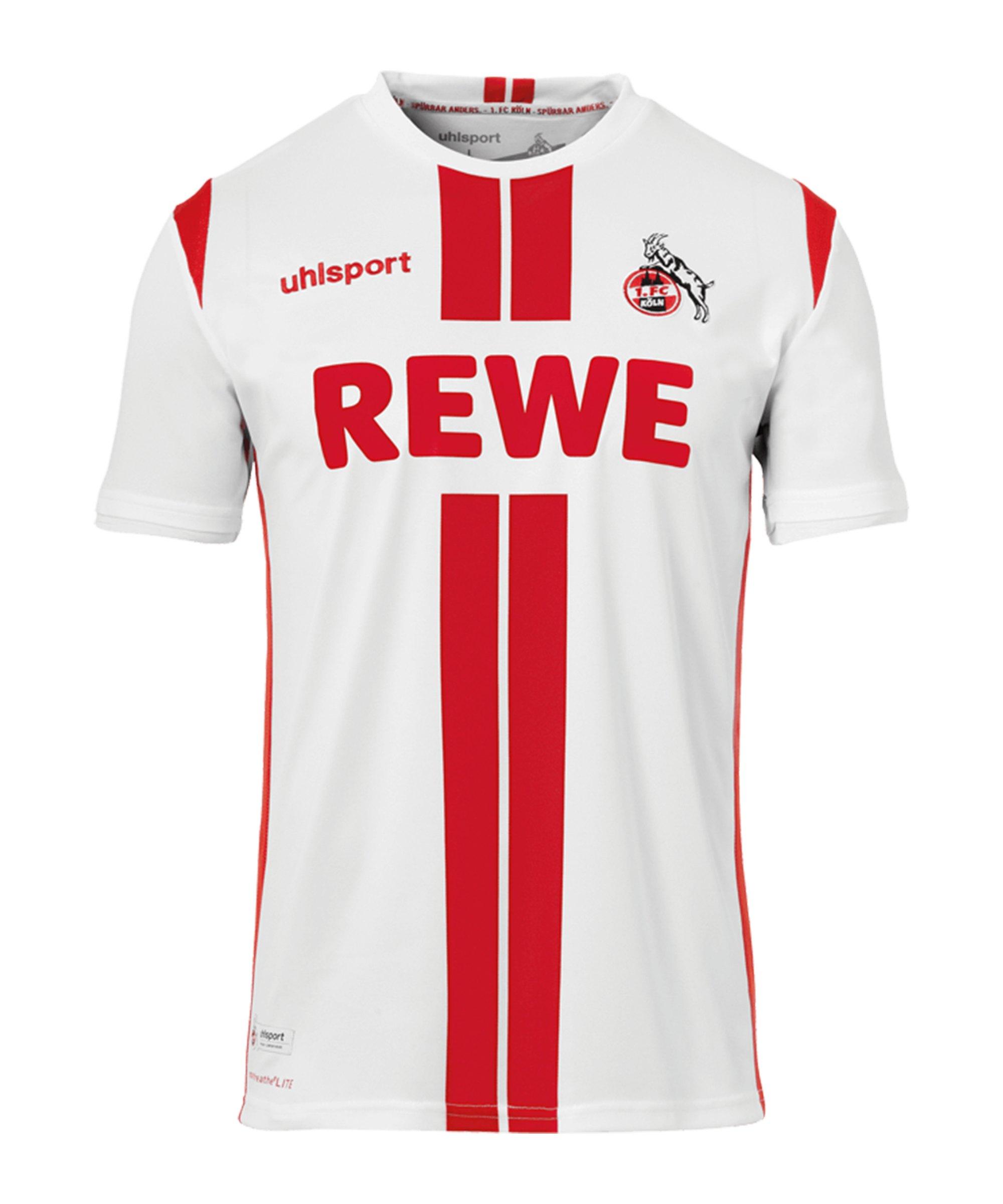 Uhlsport 1. FC Köln Trikot Home 2020/2021 Kids Weiss - rot