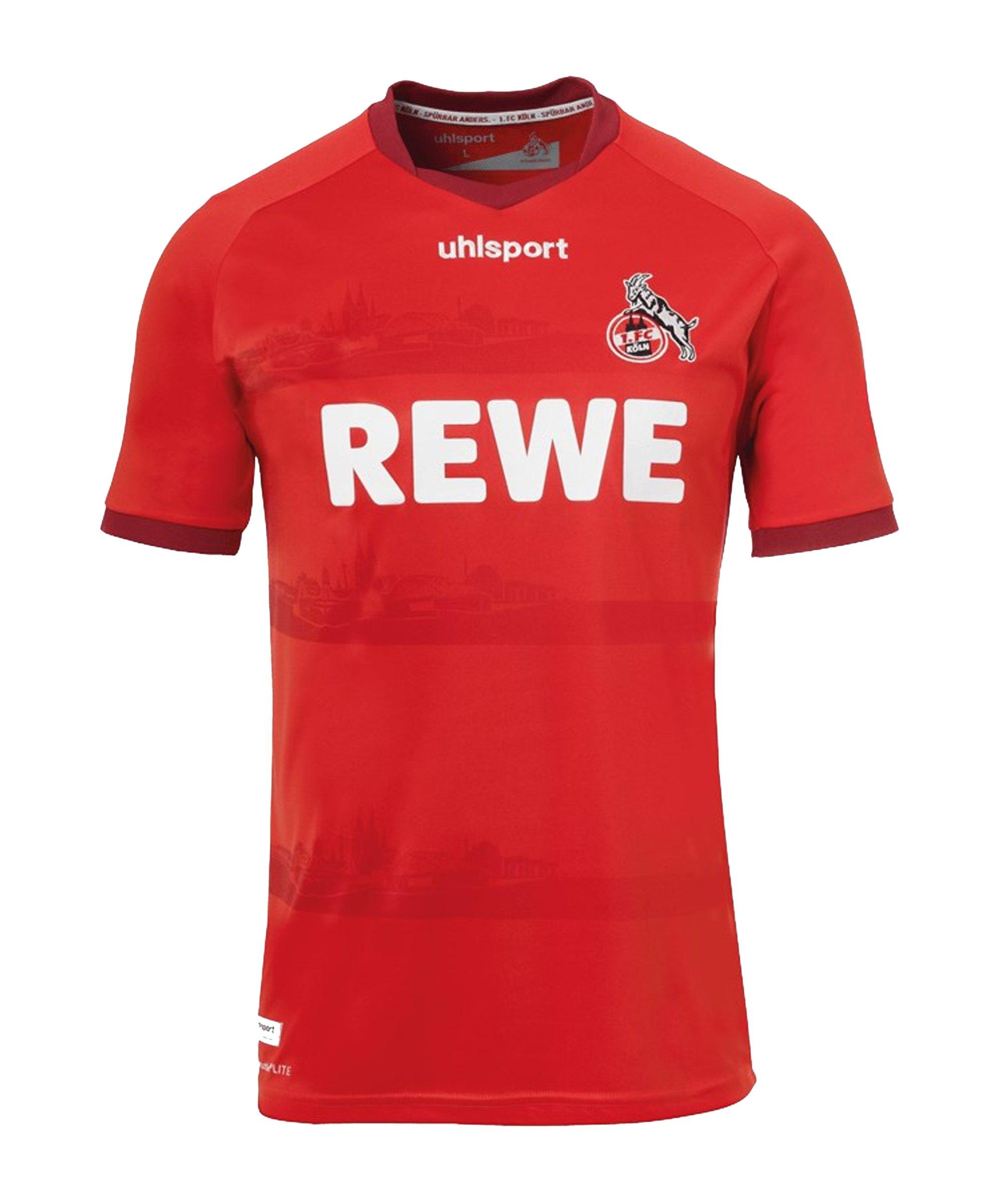 Uhlsport 1. FC Köln Trikot Away 2020/2021 Rot - rot