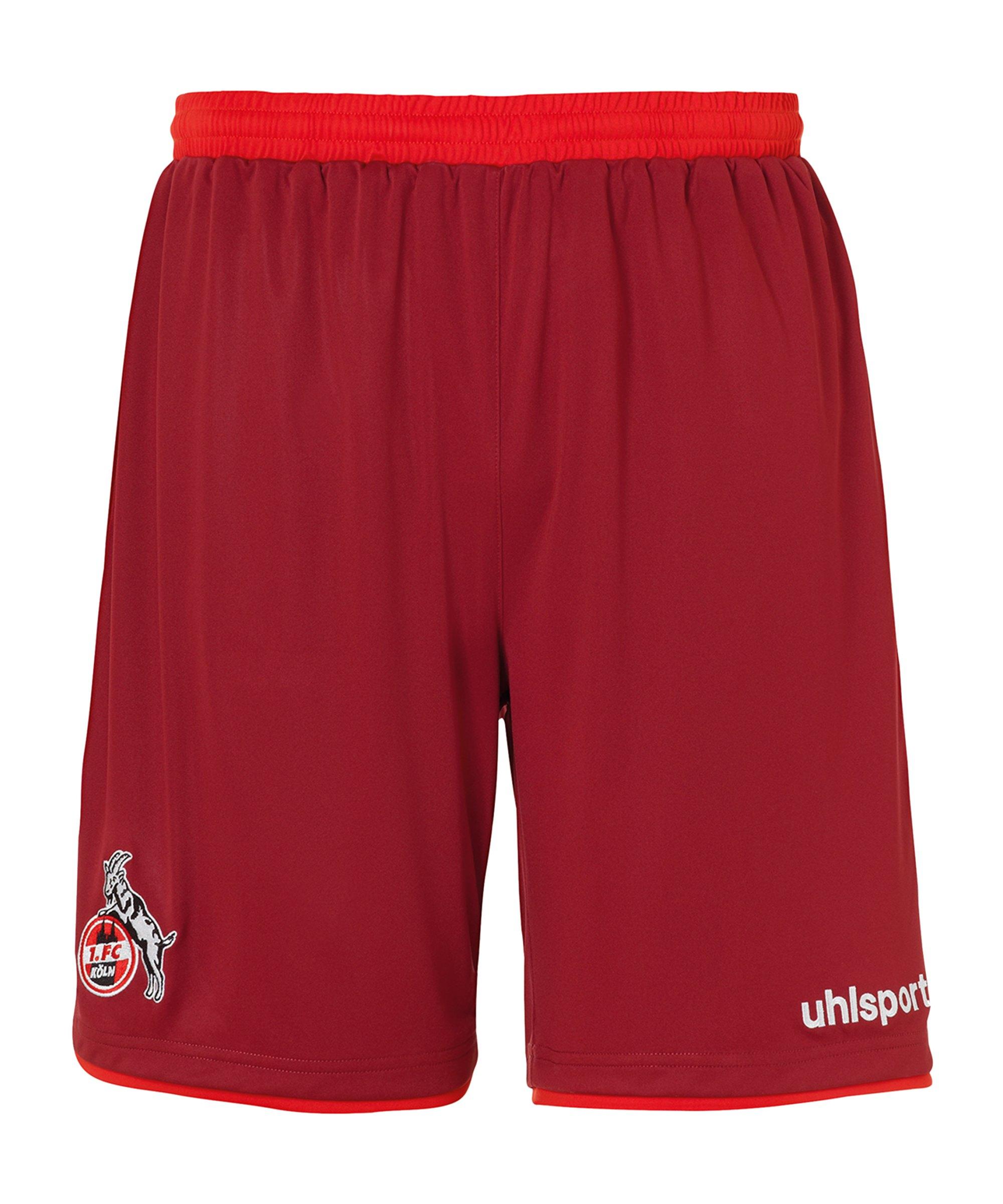 Uhlsport 1. FC Köln Short Away 2020/2021 - rot