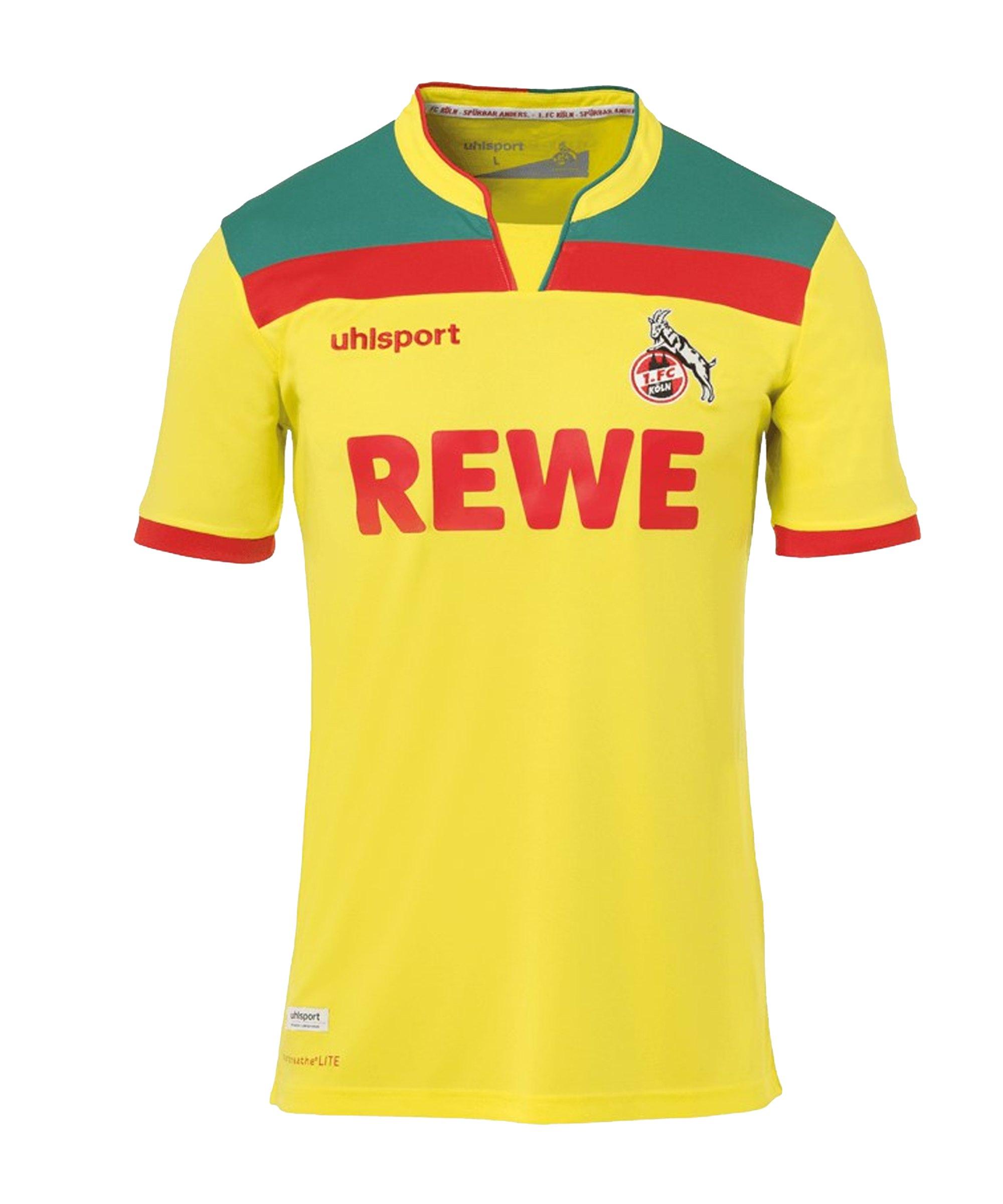 Uhlsport 1. FC Köln Trikot 3rd 2020/2021 Gelb - gelb