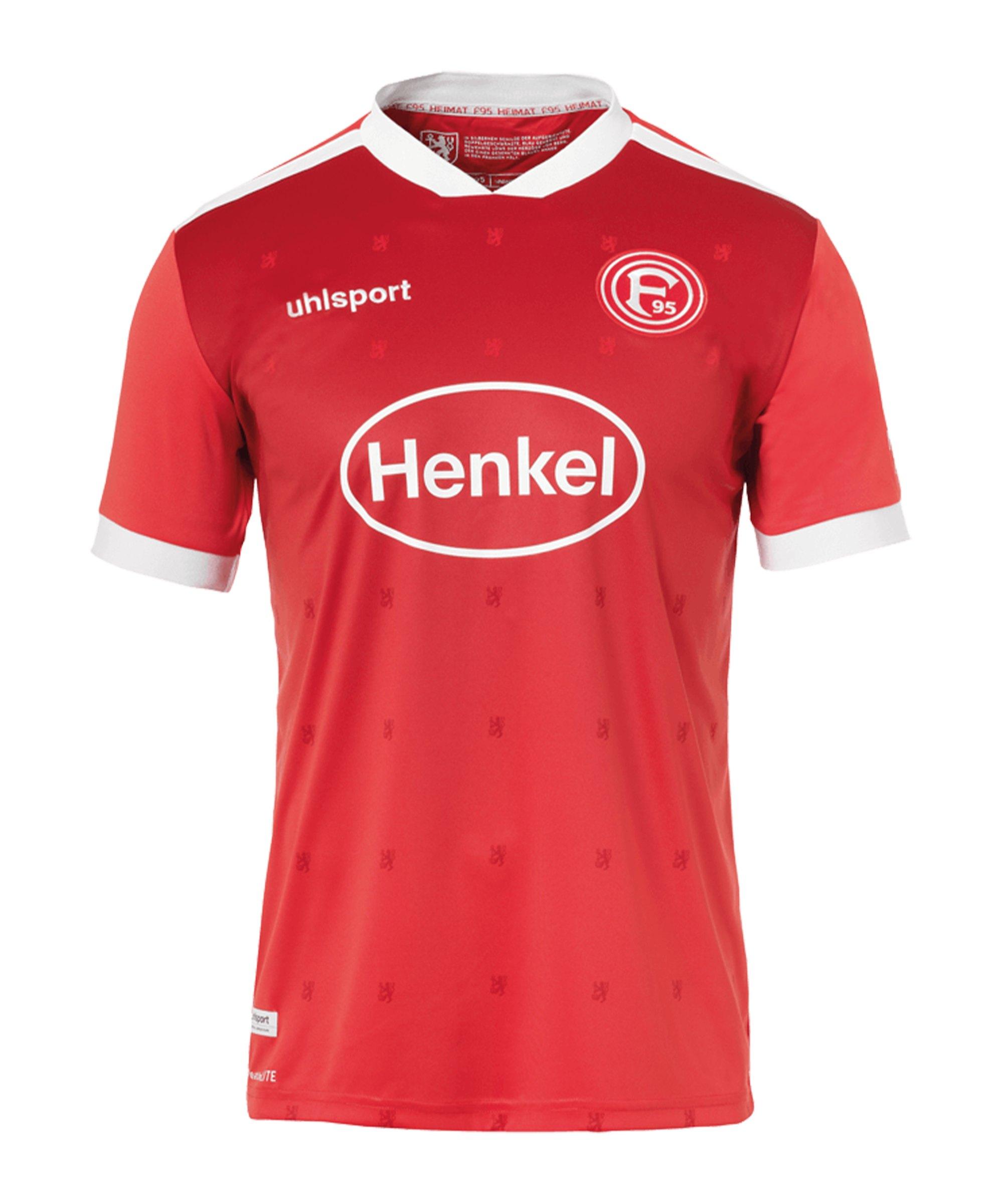 Uhlsport Fortuna Düsseldorf Trikot Home 2020/2021 Kids - rot