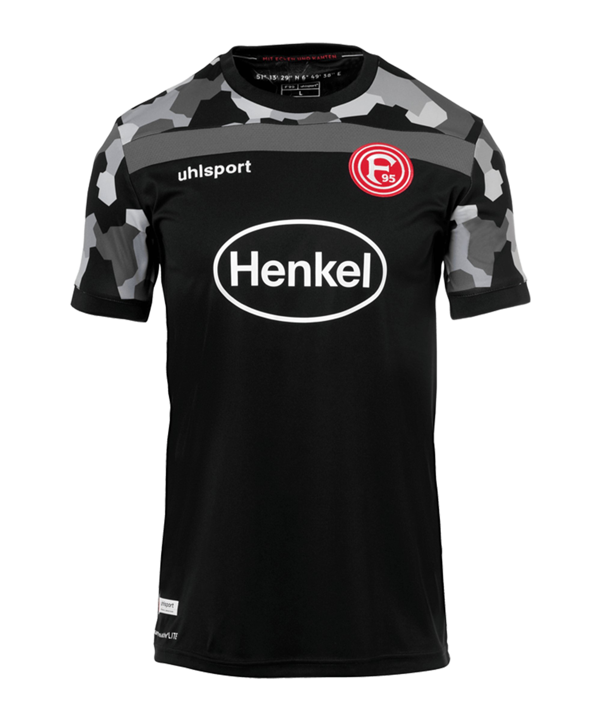 Uhlsport Fortuna Düsseldorf Trikot 3rd 2020/2021 Kids Schwarz - schwarz