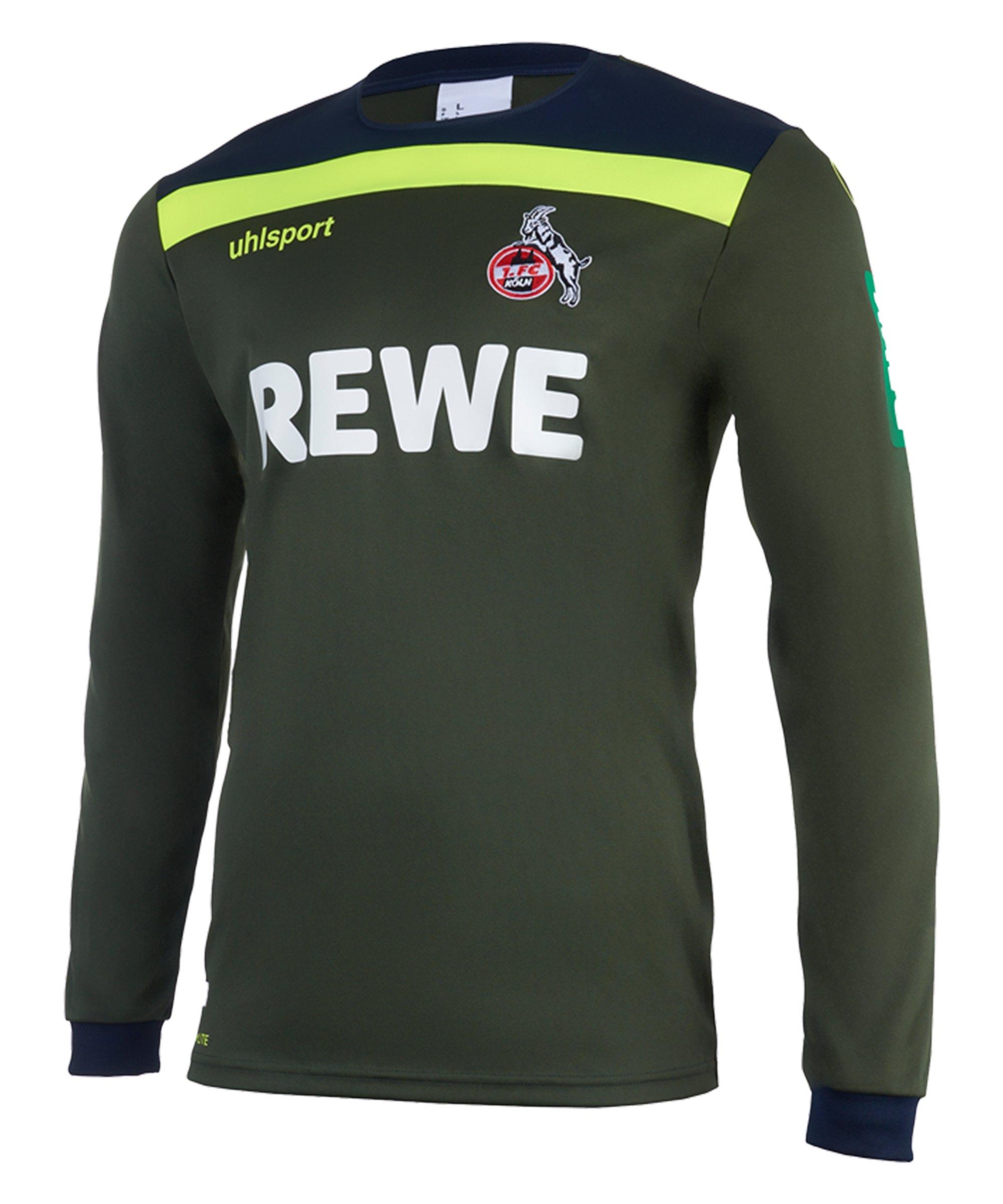 Uhlsport 1. FC Köln TW-Trikot LA 2020/2021 Grün - gruen