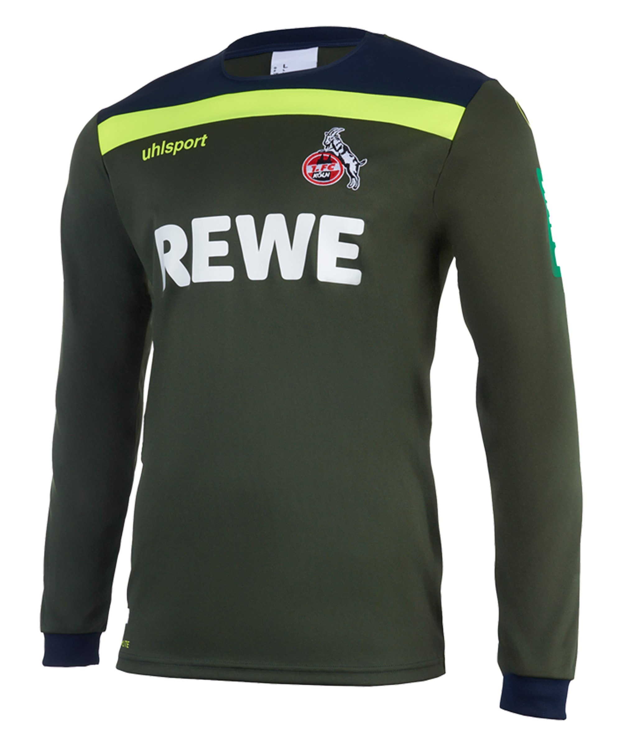 Uhlsport 1. FC Köln TW-Trikot LA 2020/2021 Kids Grün - gruen