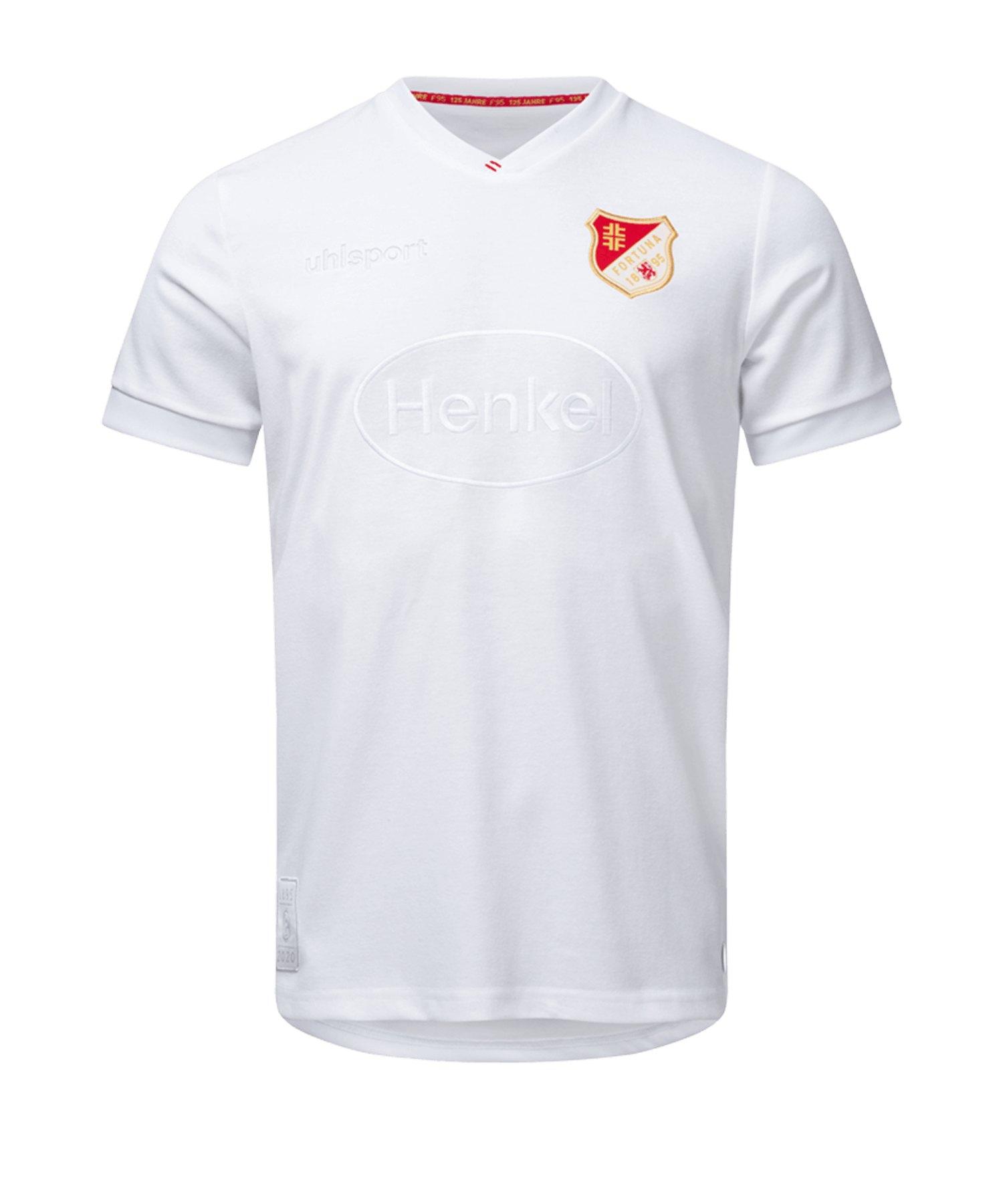 Uhlsport Fortuna Düsseldorf Jubiläum Trikot 2019/ 2020 weiss - weiss