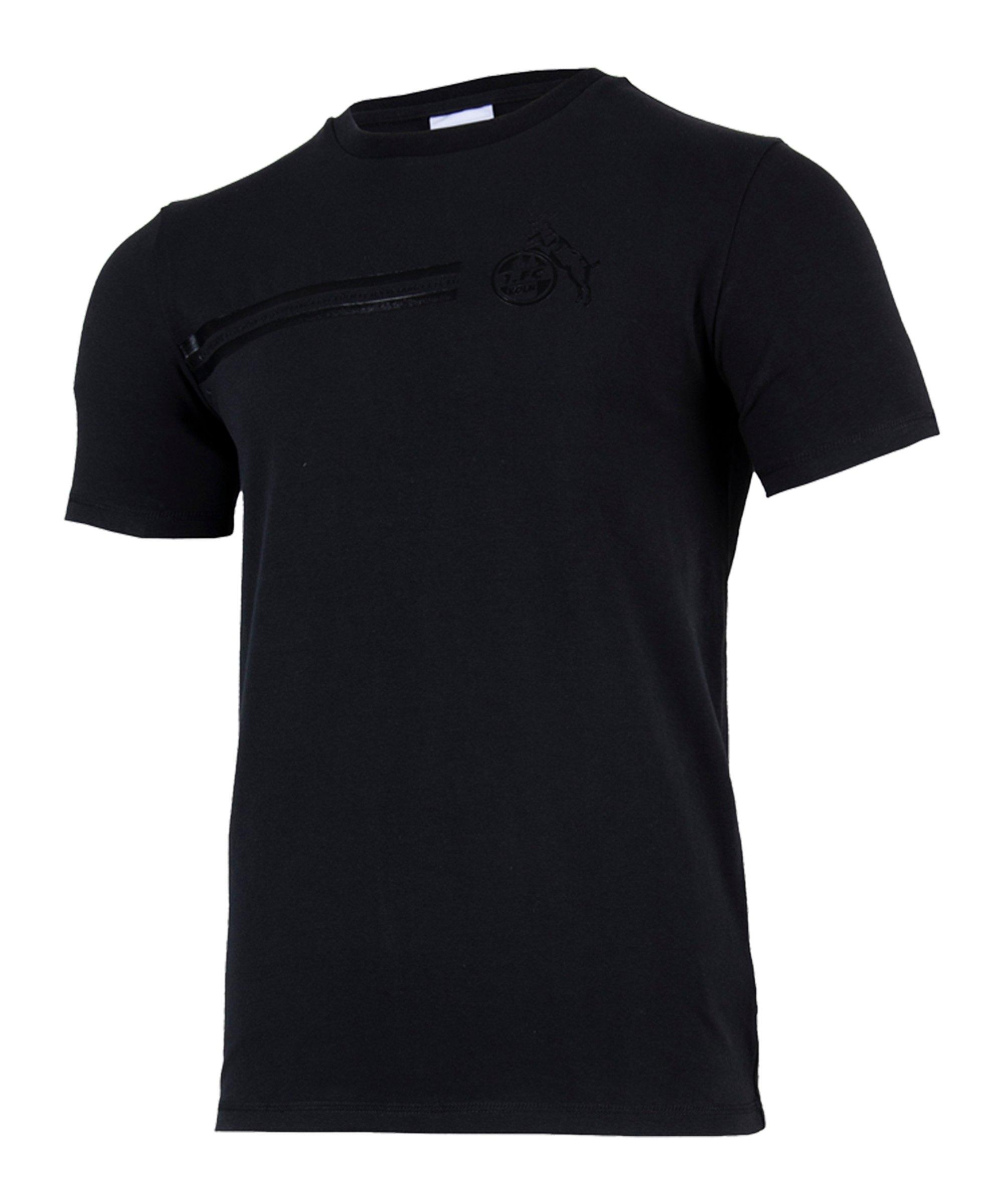 Uhlsport 1. FC Köln Blackline T-Shirt Schwarz - schwarz