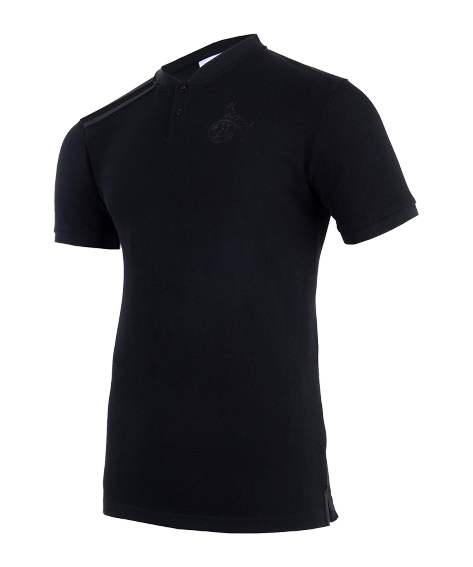 Uhlsport 1. FC Köln Blackline Poloshirt Schwarz - schwarz