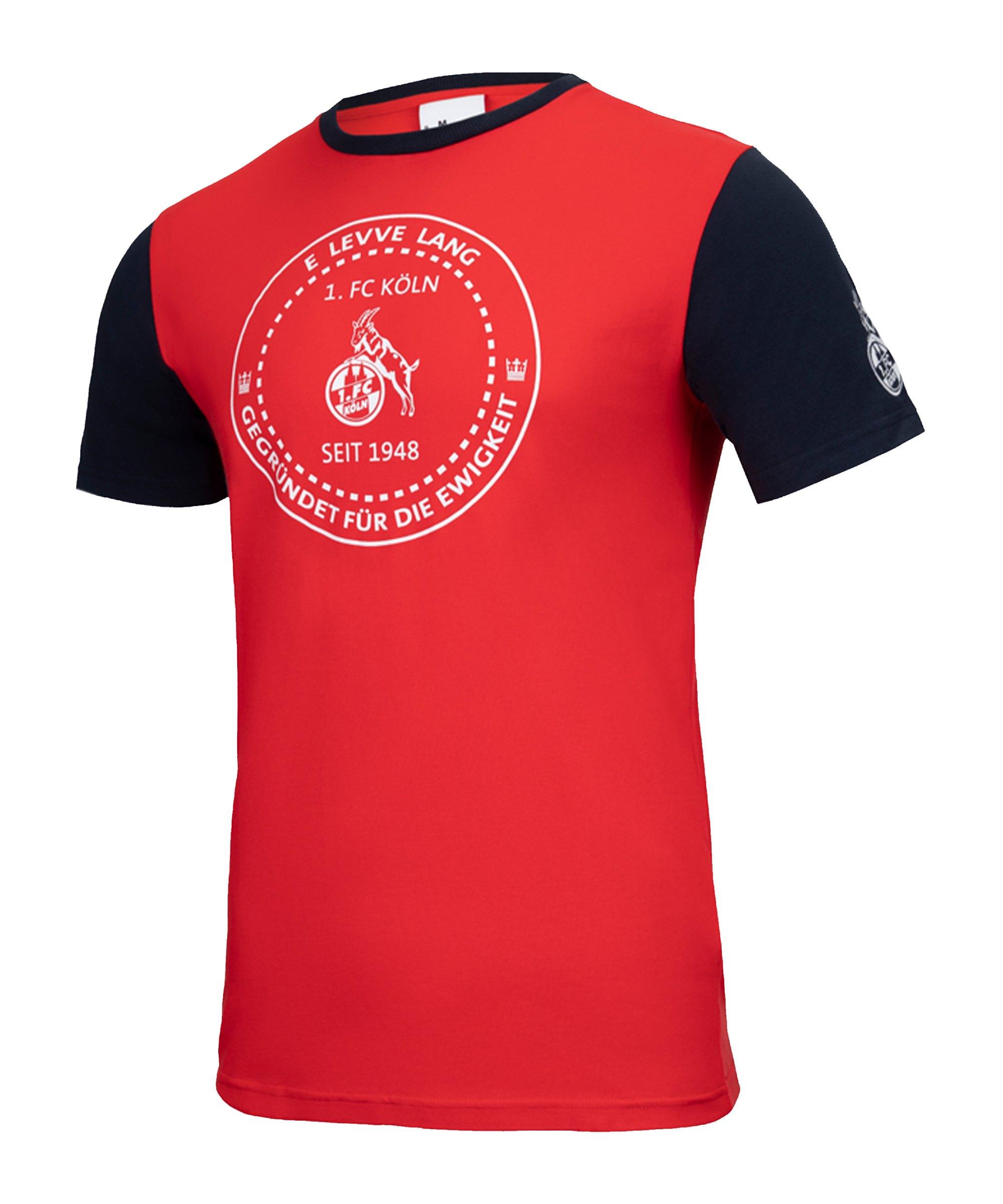 Uhlsport 1. FC Köln Xmas T-Shirt Rot - rot