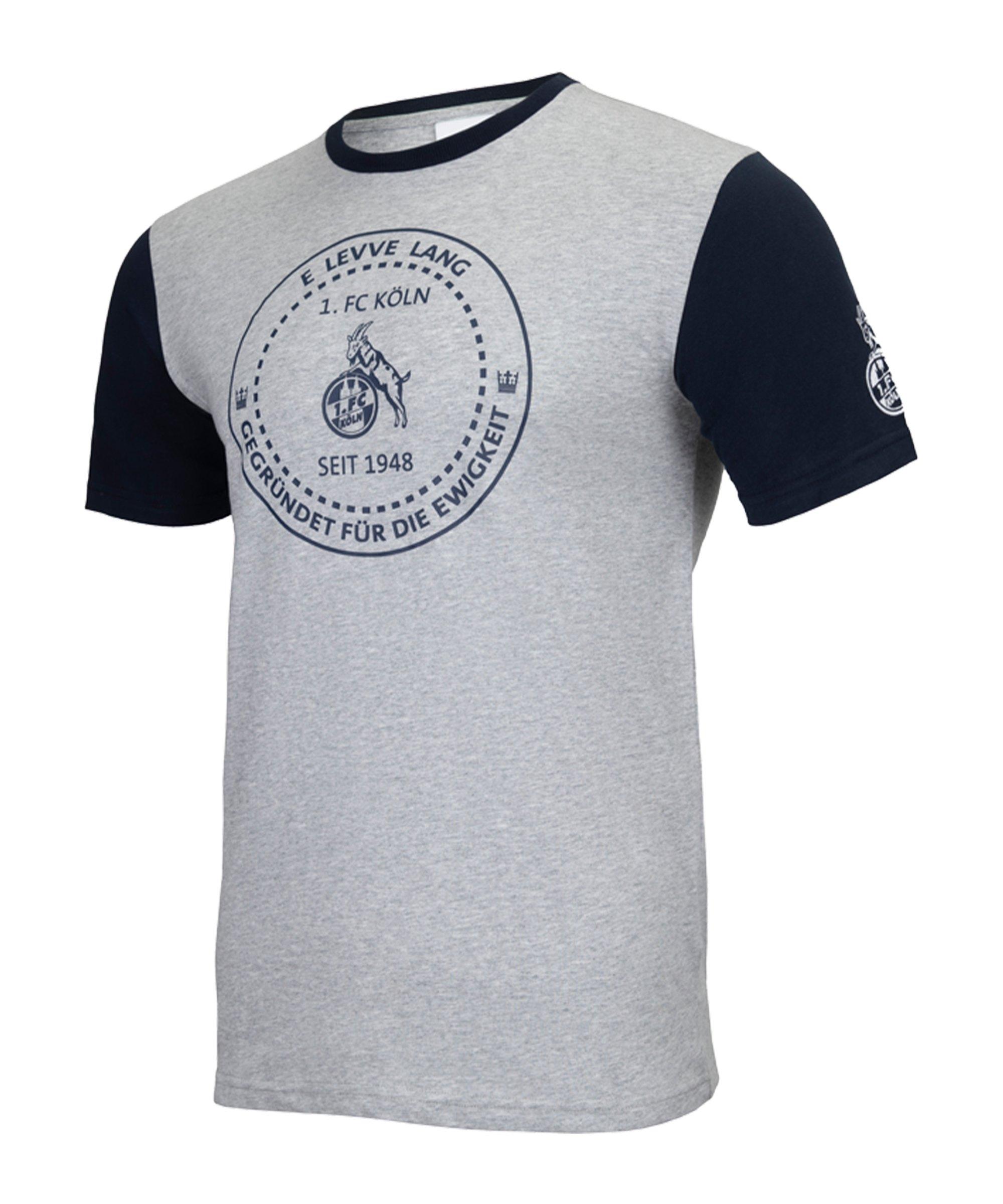 Uhlsport 1. FC Köln Xmas T-Shirt Grau - grau
