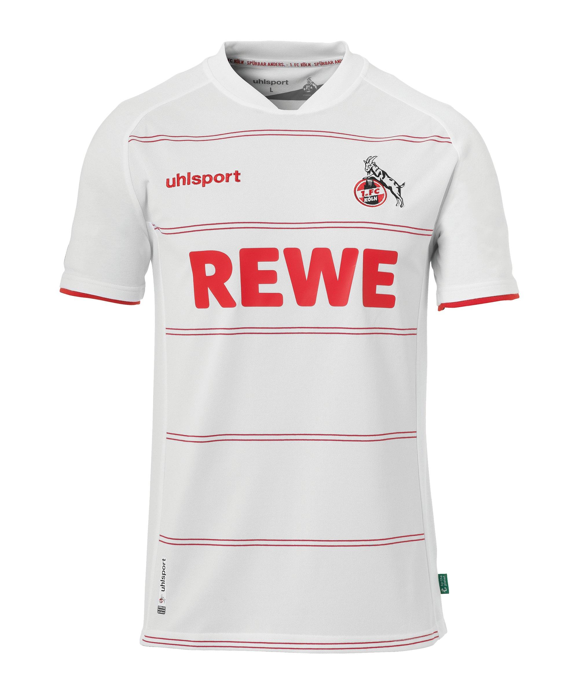 Uhlsport 1. FC Köln Trikot Home 2021/2022 Kids Weiss - weiss
