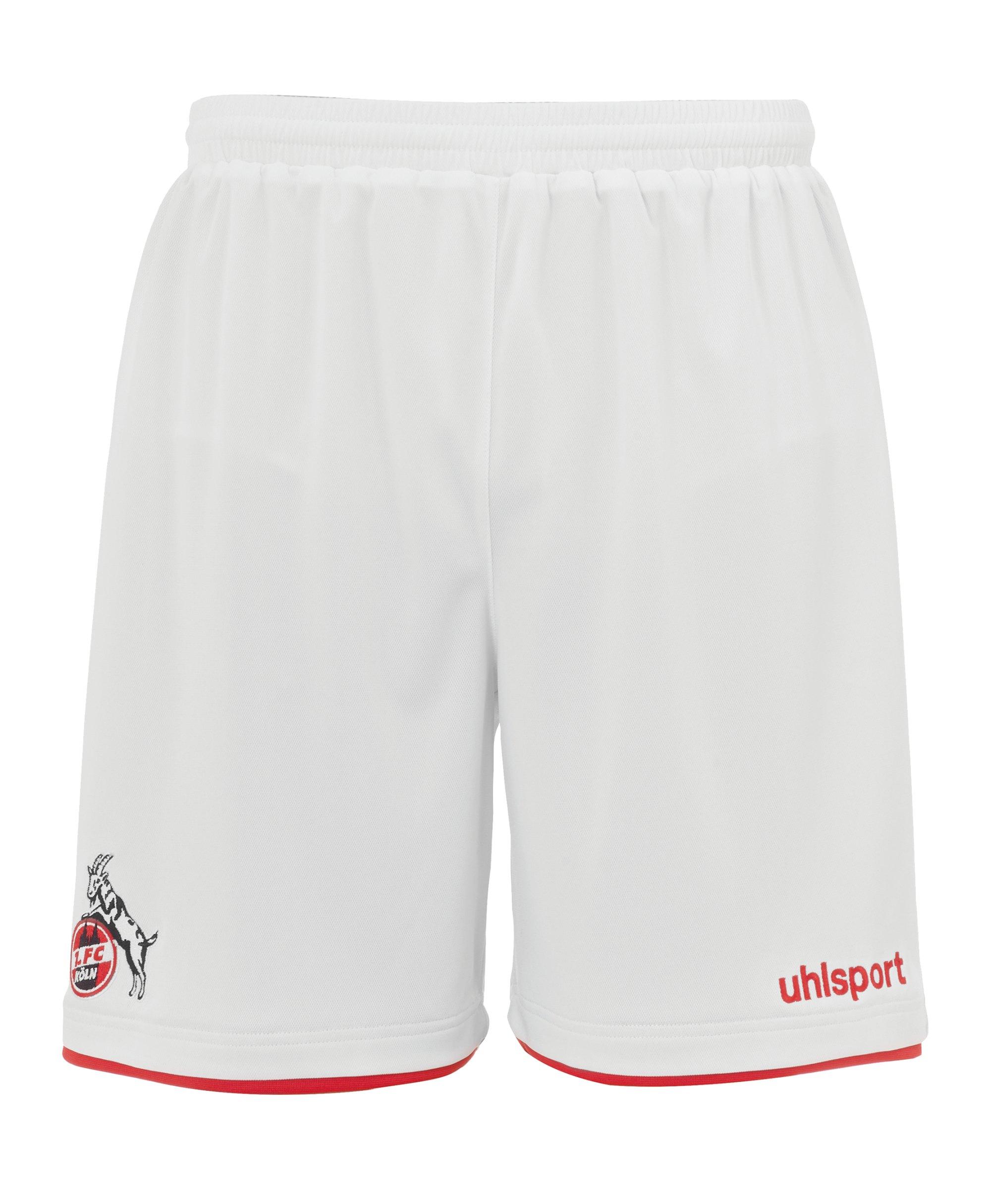 Uhlsport 1. FC Köln Short Home 2021/2022 Weiss - weiss