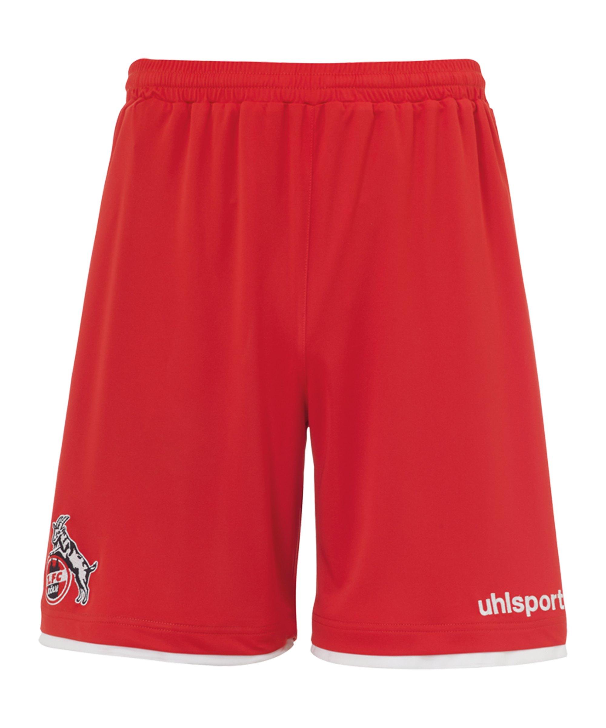 Uhlsport 1. FC Köln Short Away 2021/2022 Rot - rot