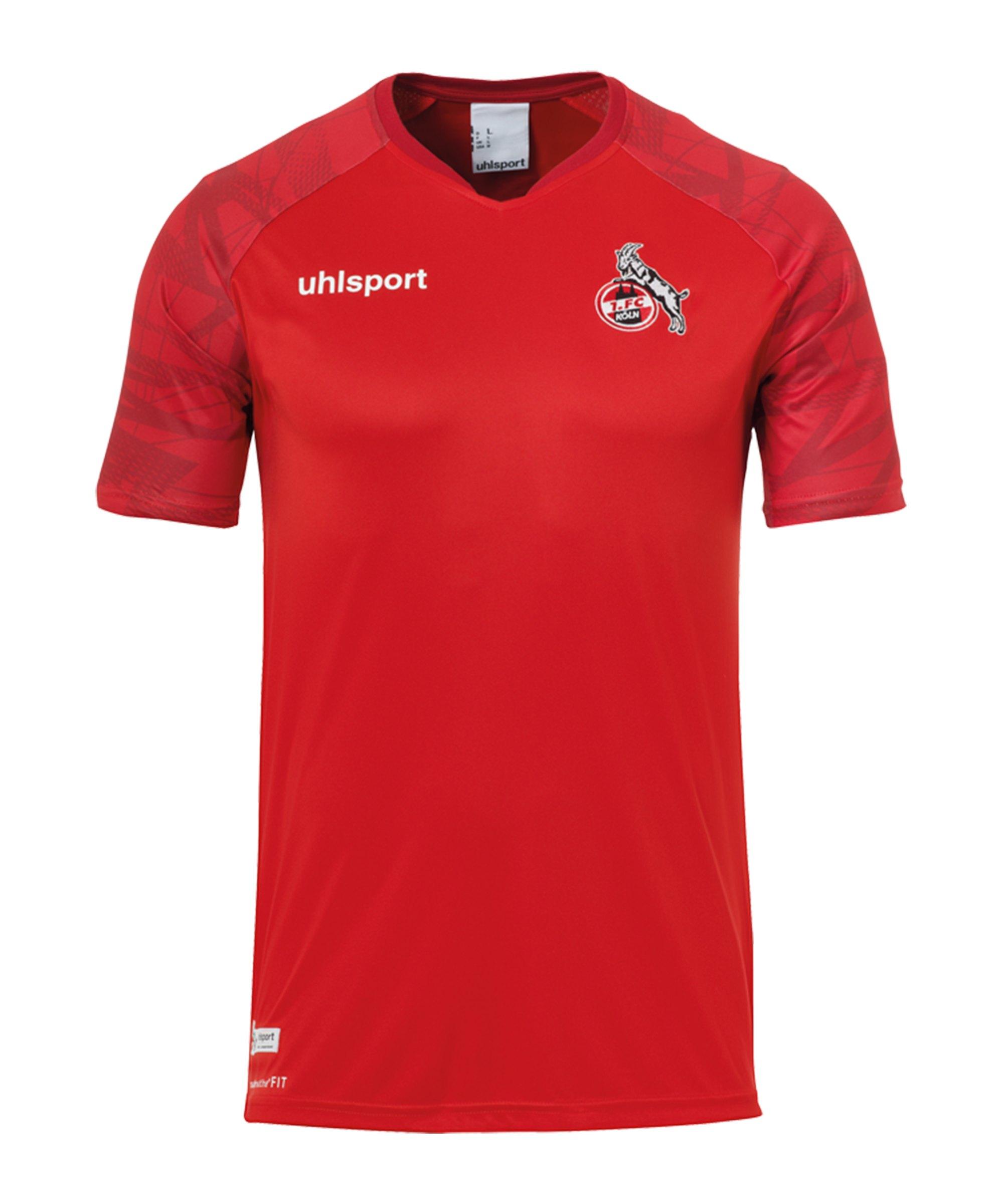 Uhlsport 1. FC Köln Goal24 Trainingsshirt Rot - rot