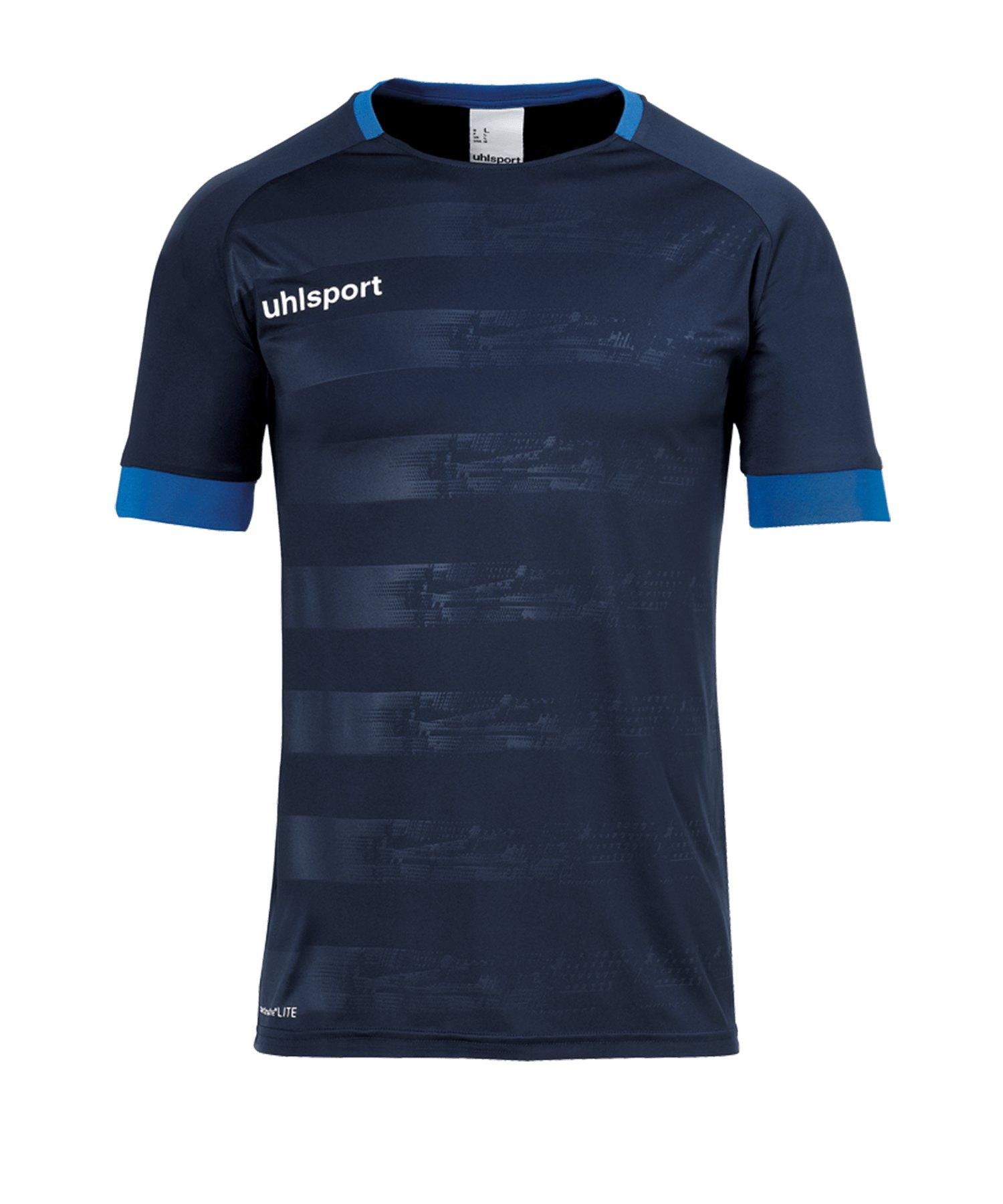 Uhlsport Division II Trikot kurzarm Blau F10 - blau