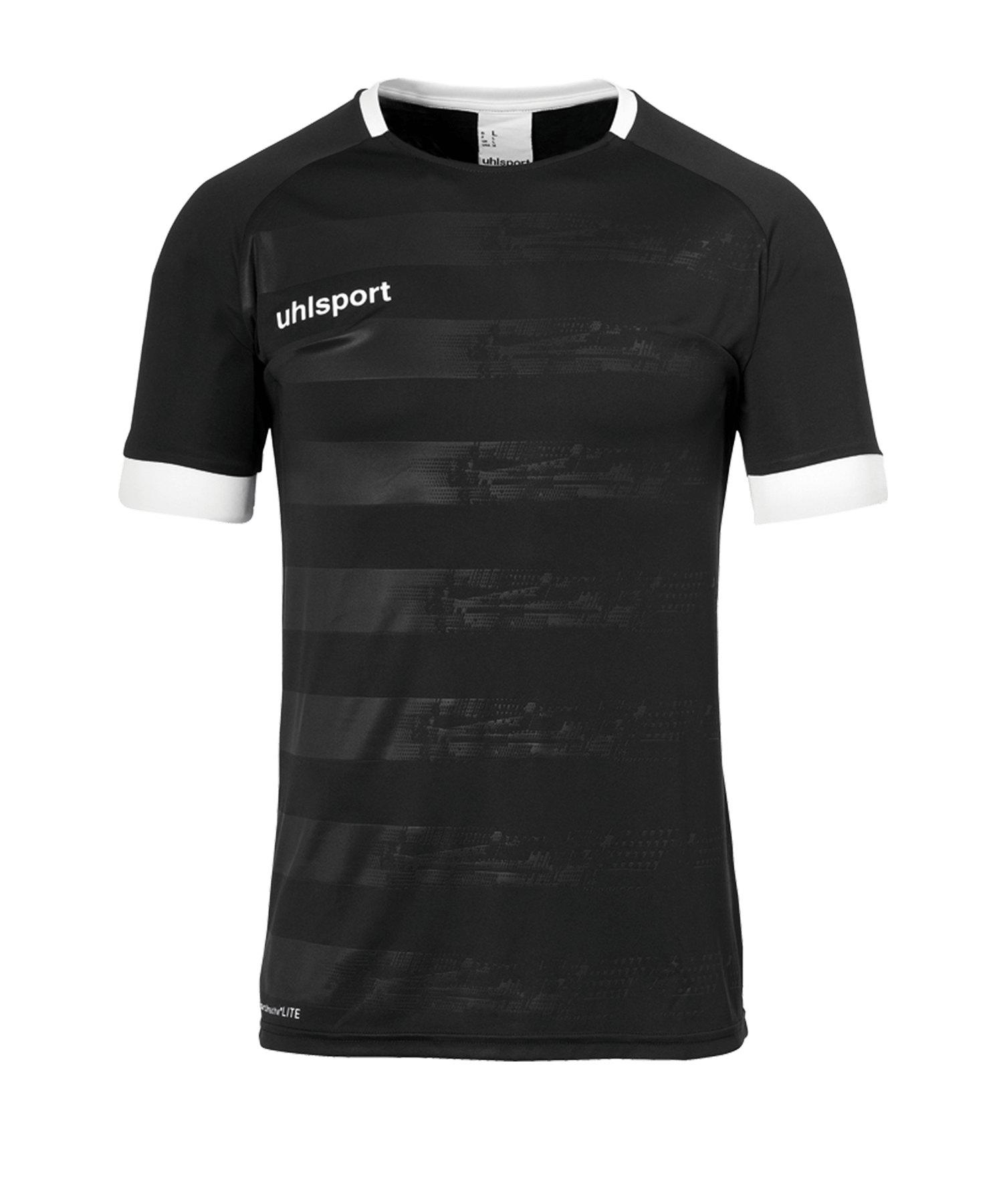 Uhlsport Division II Trikot kurzarm Schwarz F01 - schwarz