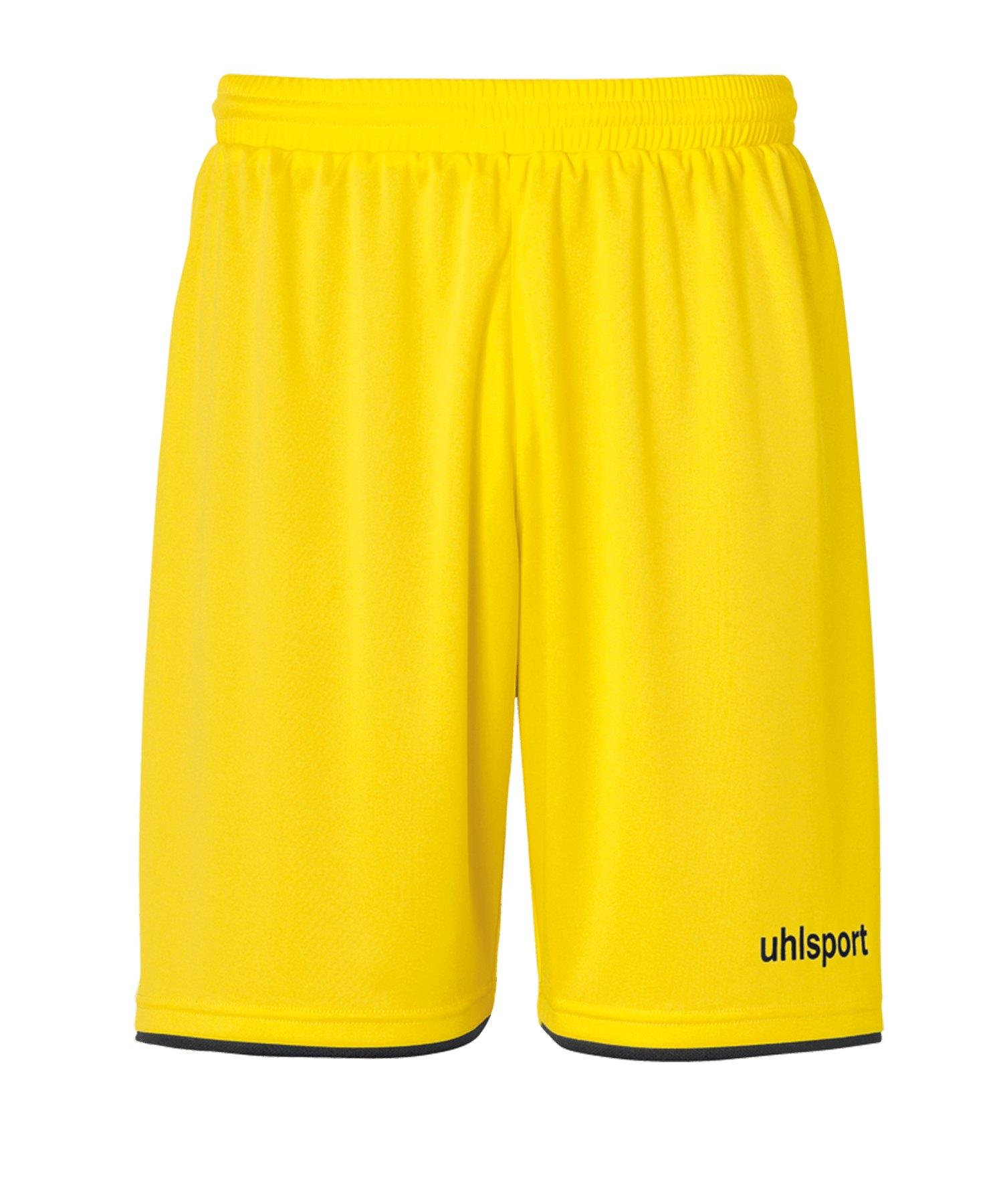 Uhlsport Club Short Gelb Schwarz F07 - gelb