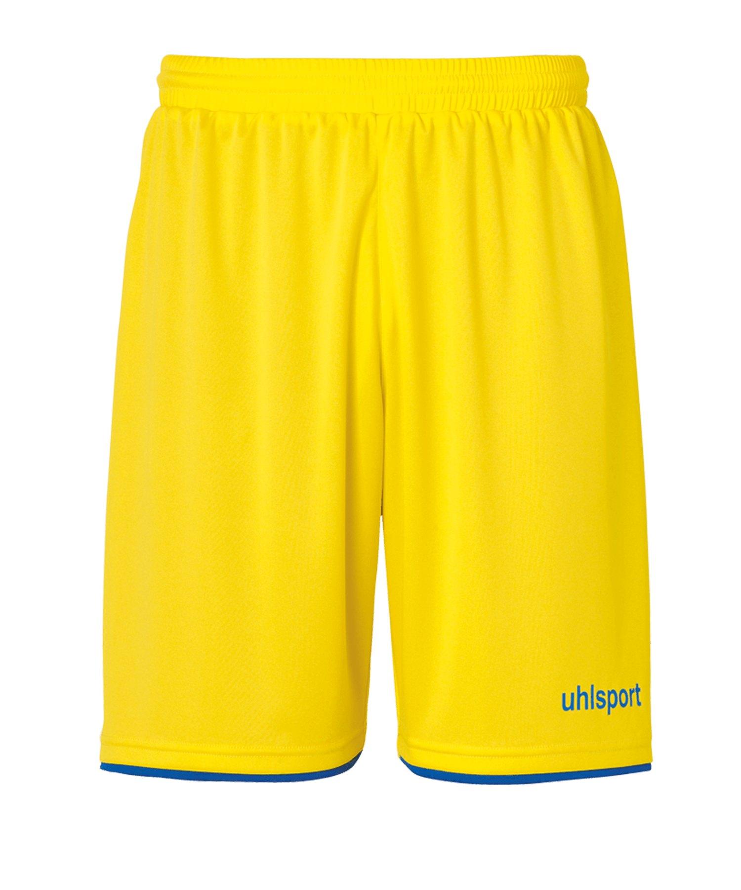 Uhlsport Club Short Kids Gelb Blau F11 - gelb
