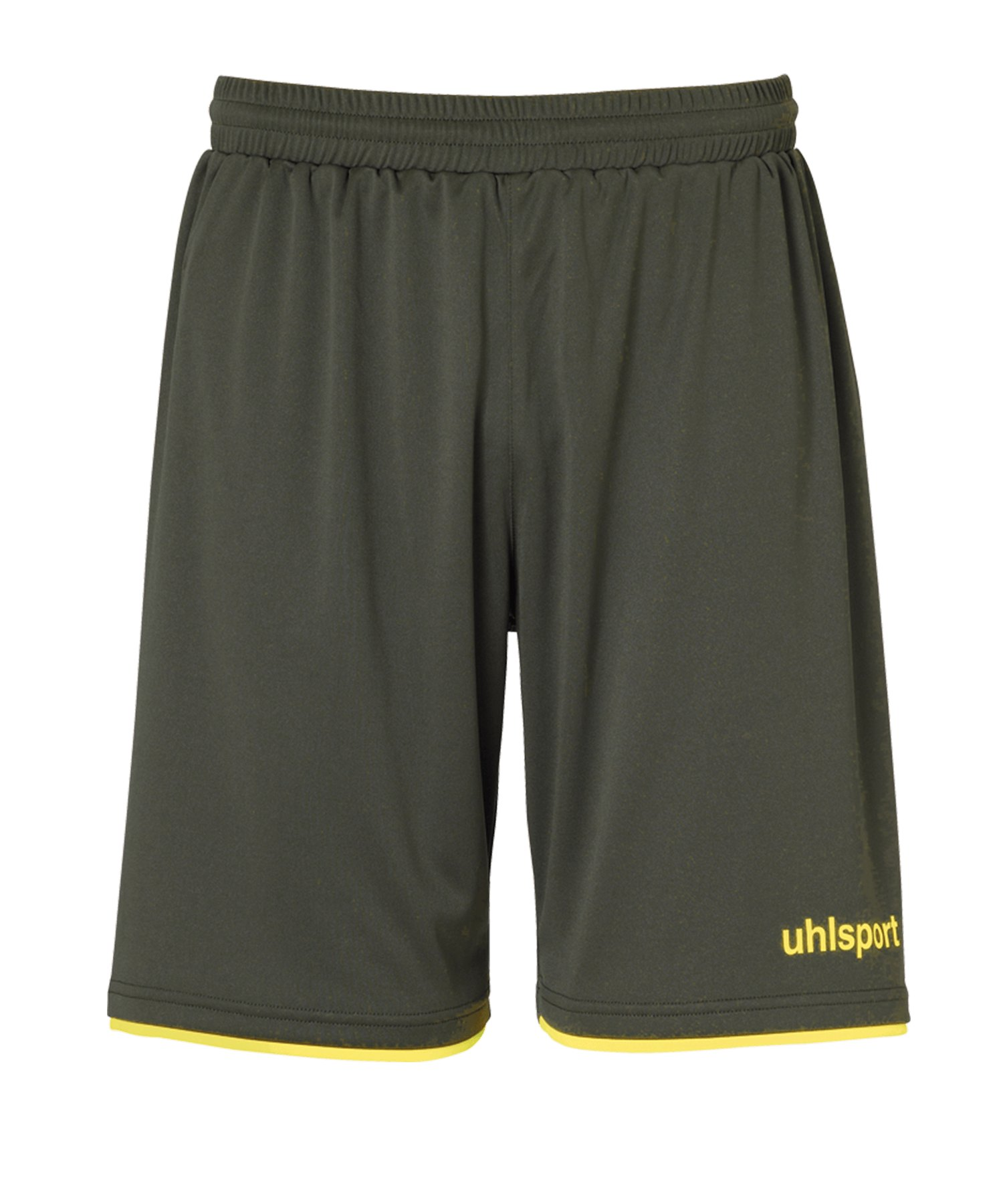 Uhlsport Club Short Kids Grün Gelb F14 - gruen