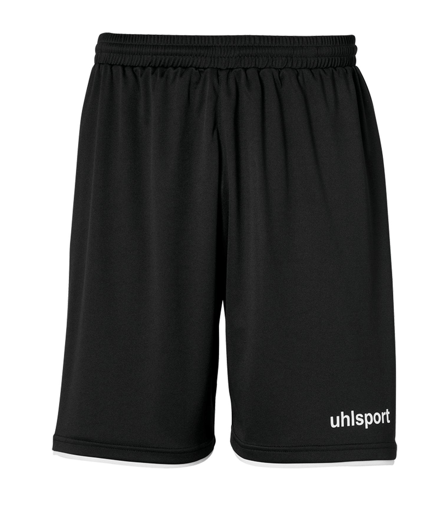 Uhlsport Club Short Kids Schwarz Weiss F01 - schwarz