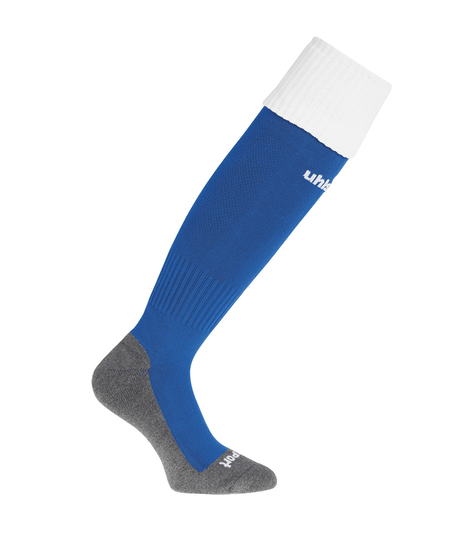 Uhlsport Club Stutzenstrumpf Blau Weiss F03 - blau
