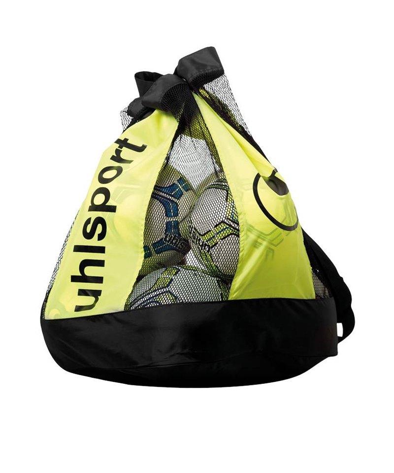 Uhlsport Ballbag Balltasche 16 Bälle Schwarz F01 - schwarz