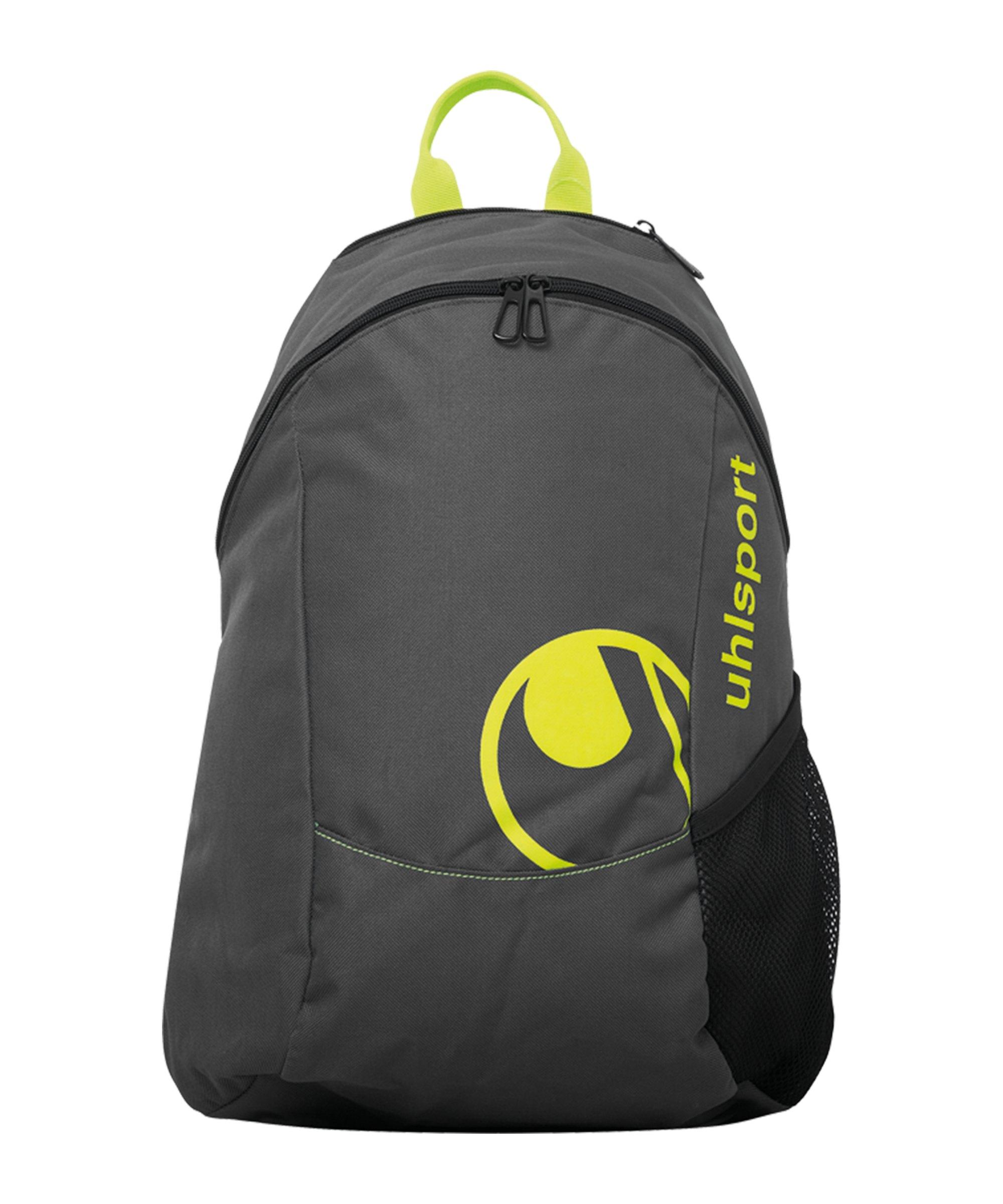Uhlsport Essential Rucksack Grau Gelb F05 - grau