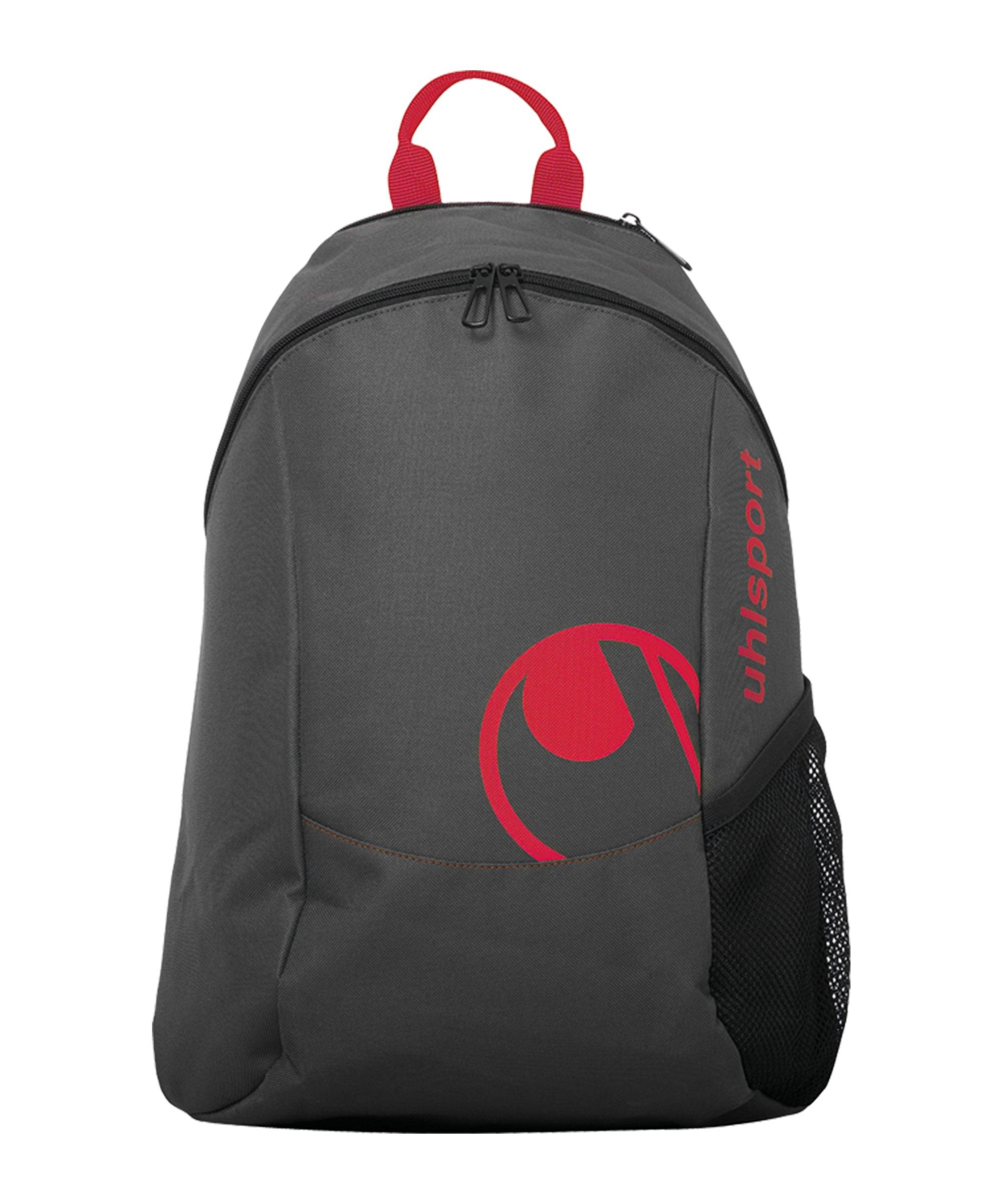 Uhlsport Essential Rucksack Grau Rot F03 - grau