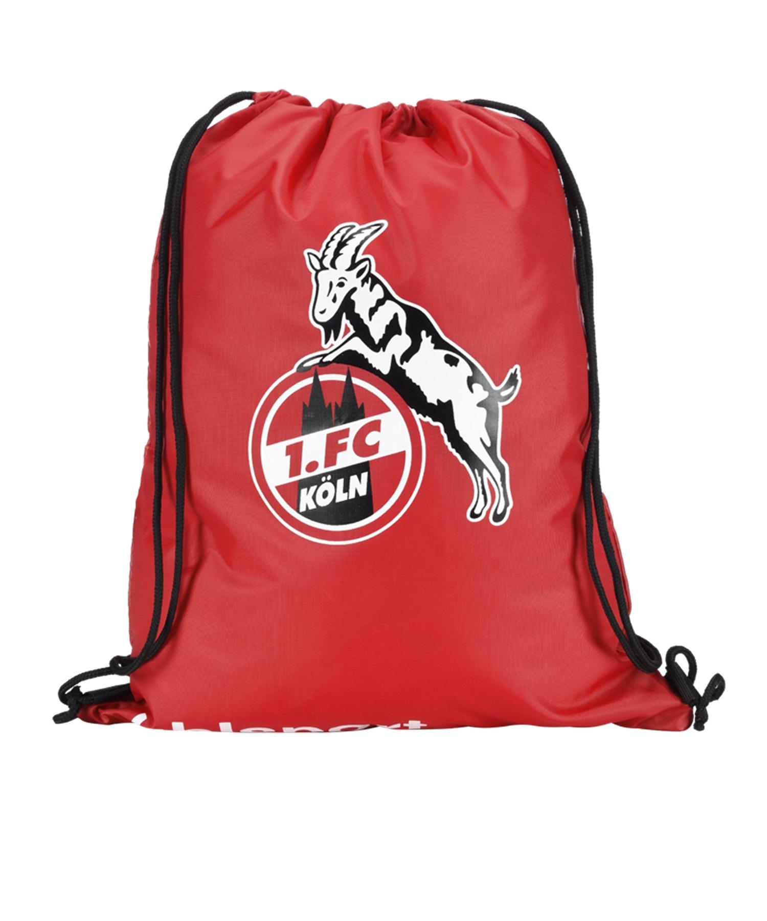 Uhlsport 1. FC Köln Gymbag Rot Schwarz - rot