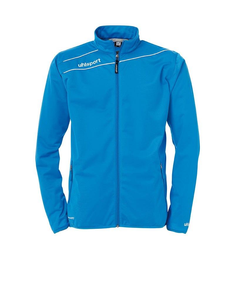 Uhlsport Stream 3.0 Classic Trainingsjacke Blau Weiss F10 - blau
