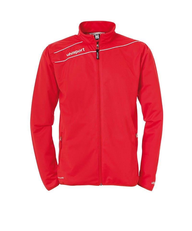 Uhlsport Stream 3.0 Classic Trainingsjacke Rot Weiss F01 - rot