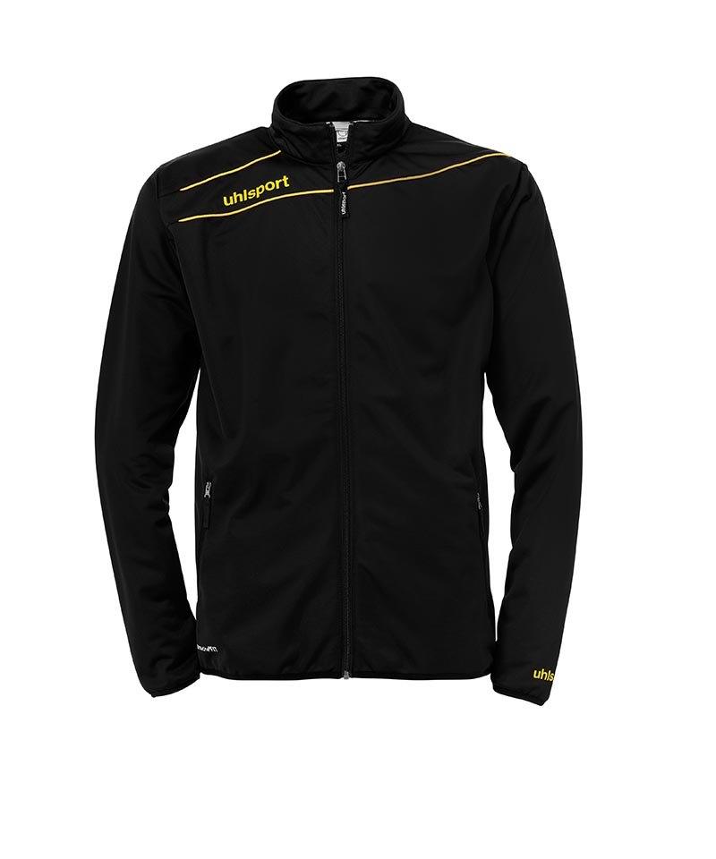 Uhlsport Stream 3.0 Classic Trainingsjacke Schwarz Gelb F05 - schwarz