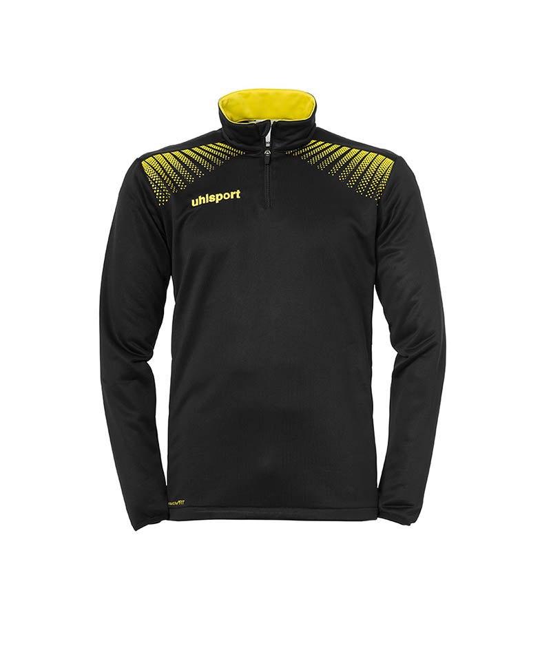 Uhlsport Ziptop Goal Schwarz Gelb F08 - schwarz