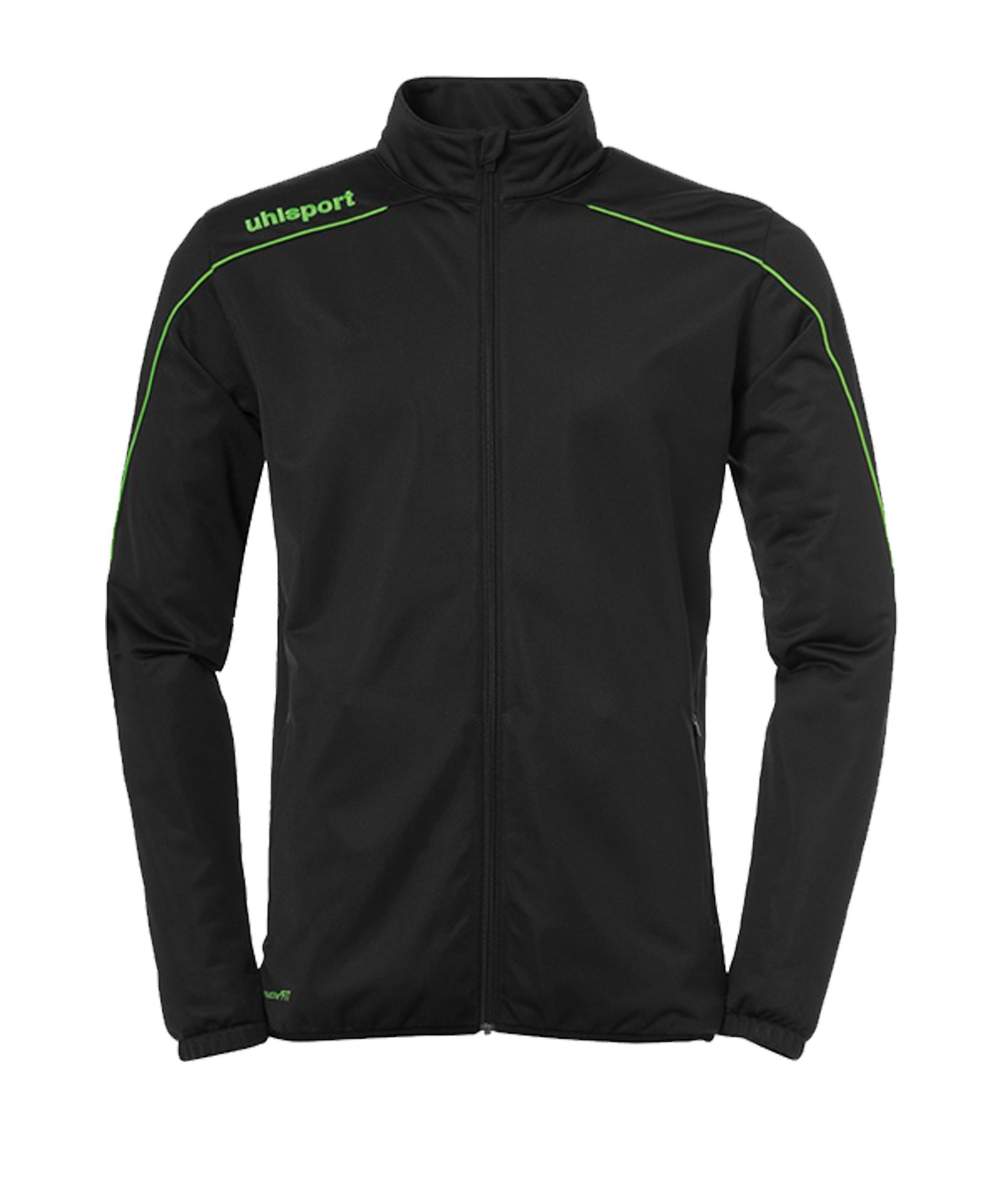 Uhlsport Stream 22 Trainingsjacke Classic Kids F24 - Schwarz
