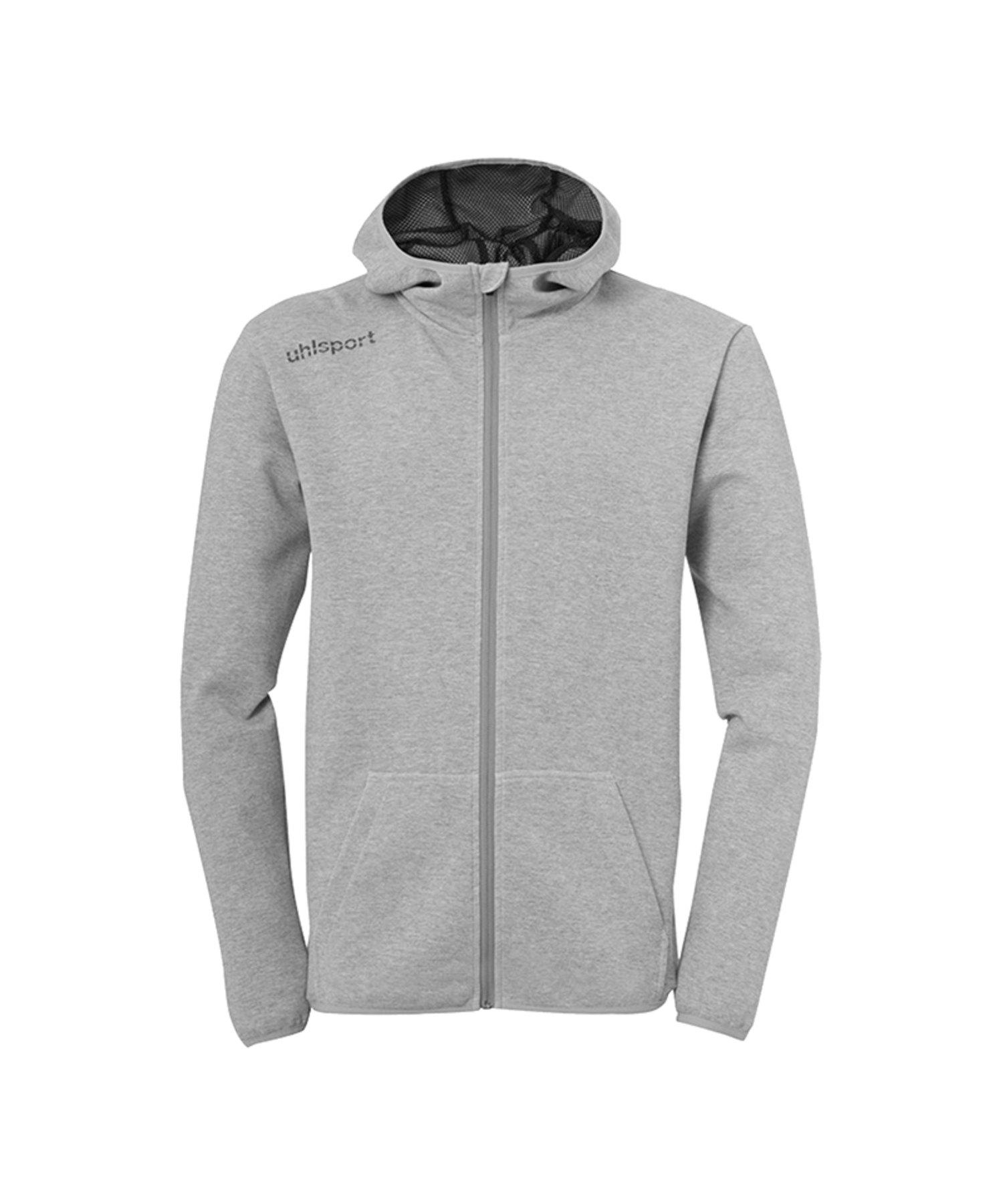 Uhlsport Essential Kapuzenjacke Grau F15 - grau