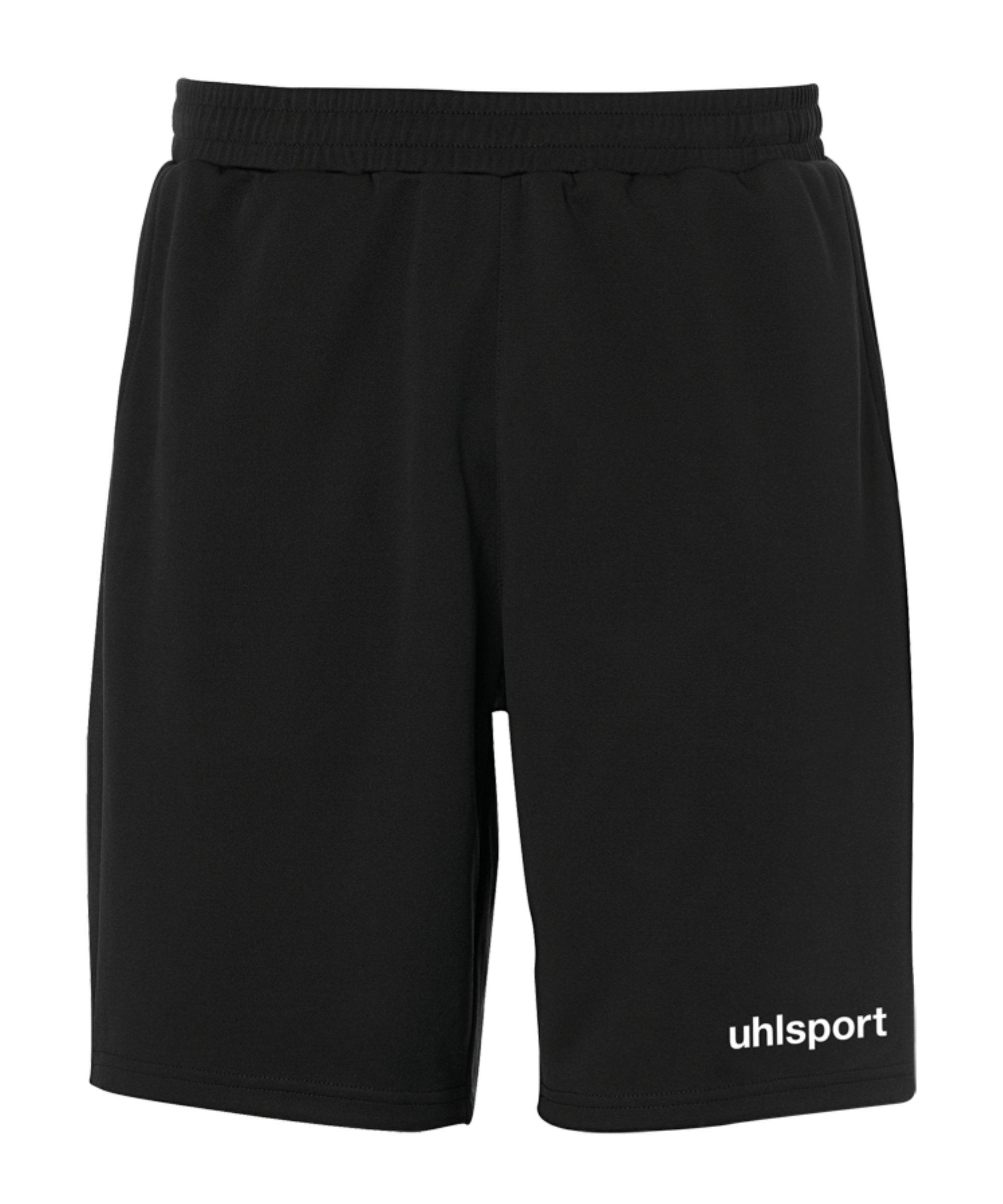 Uhlsport Essential PES-Short Hose kurz F01 - schwarz