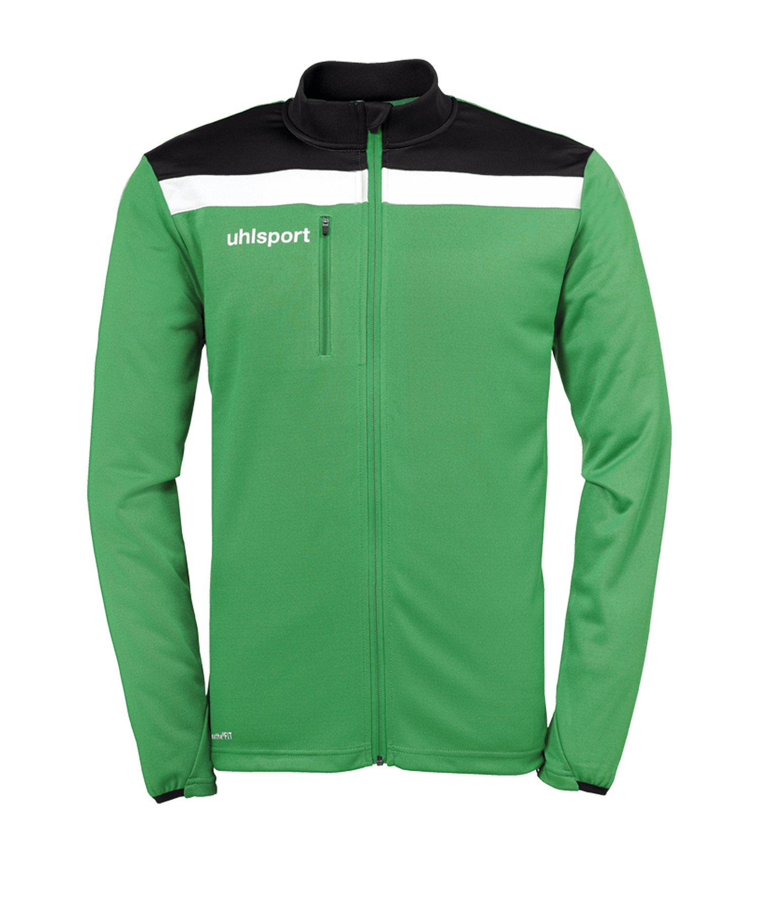 Uhlsport Offense 23 Trainingsjacke Kids Grün F06 - gruen