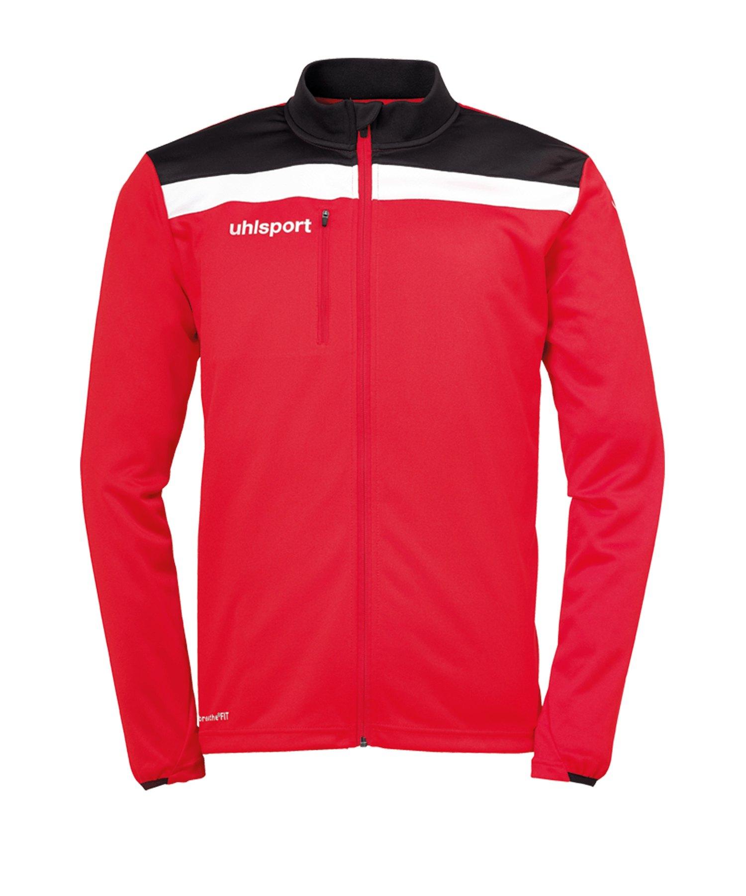 Uhlsport Offense 23 Trainingsjacke Rot Schwarz F04 - rot