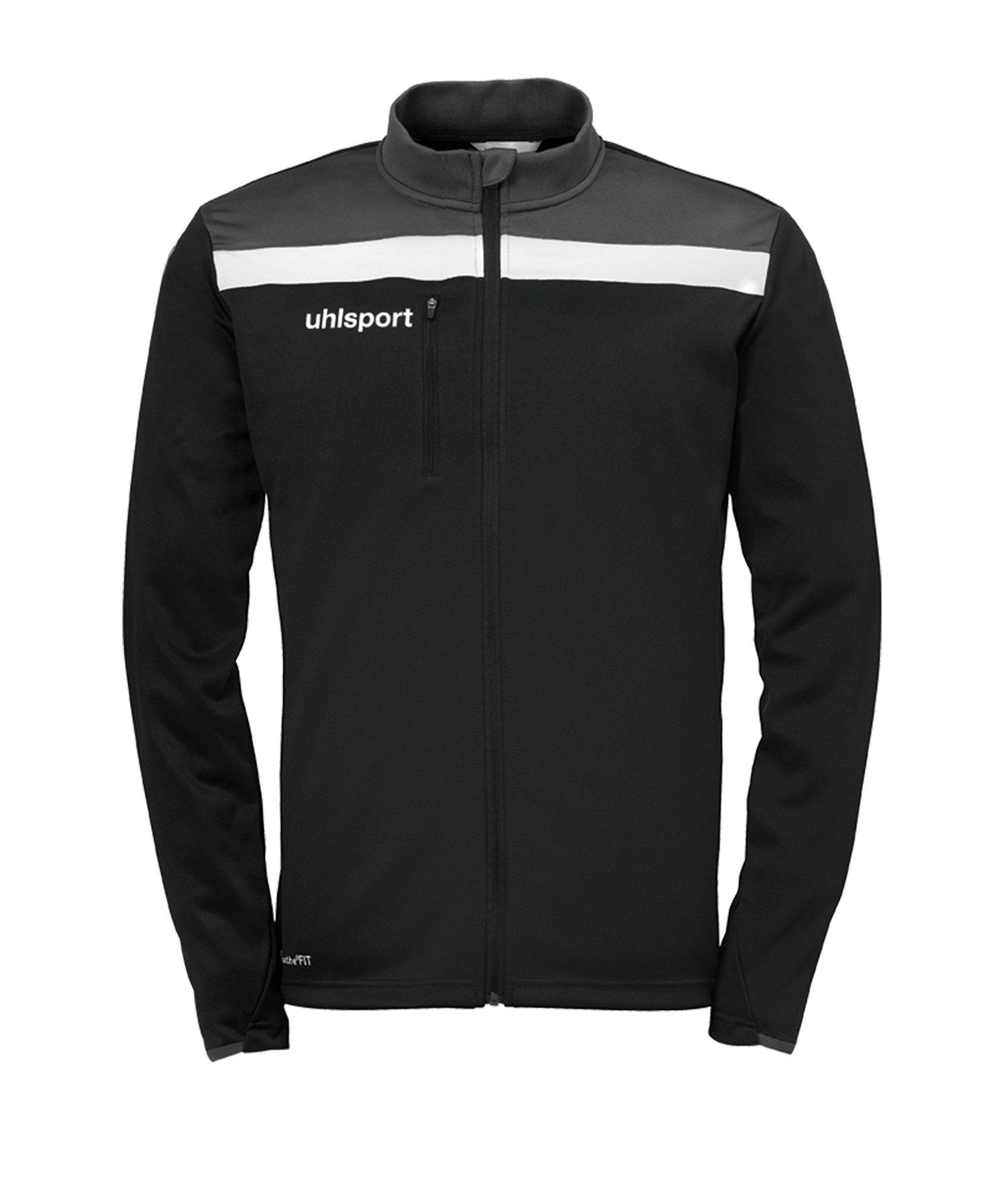 Uhlsport Offense 23 Trainingsjacke Schwarz F01 - schwarz