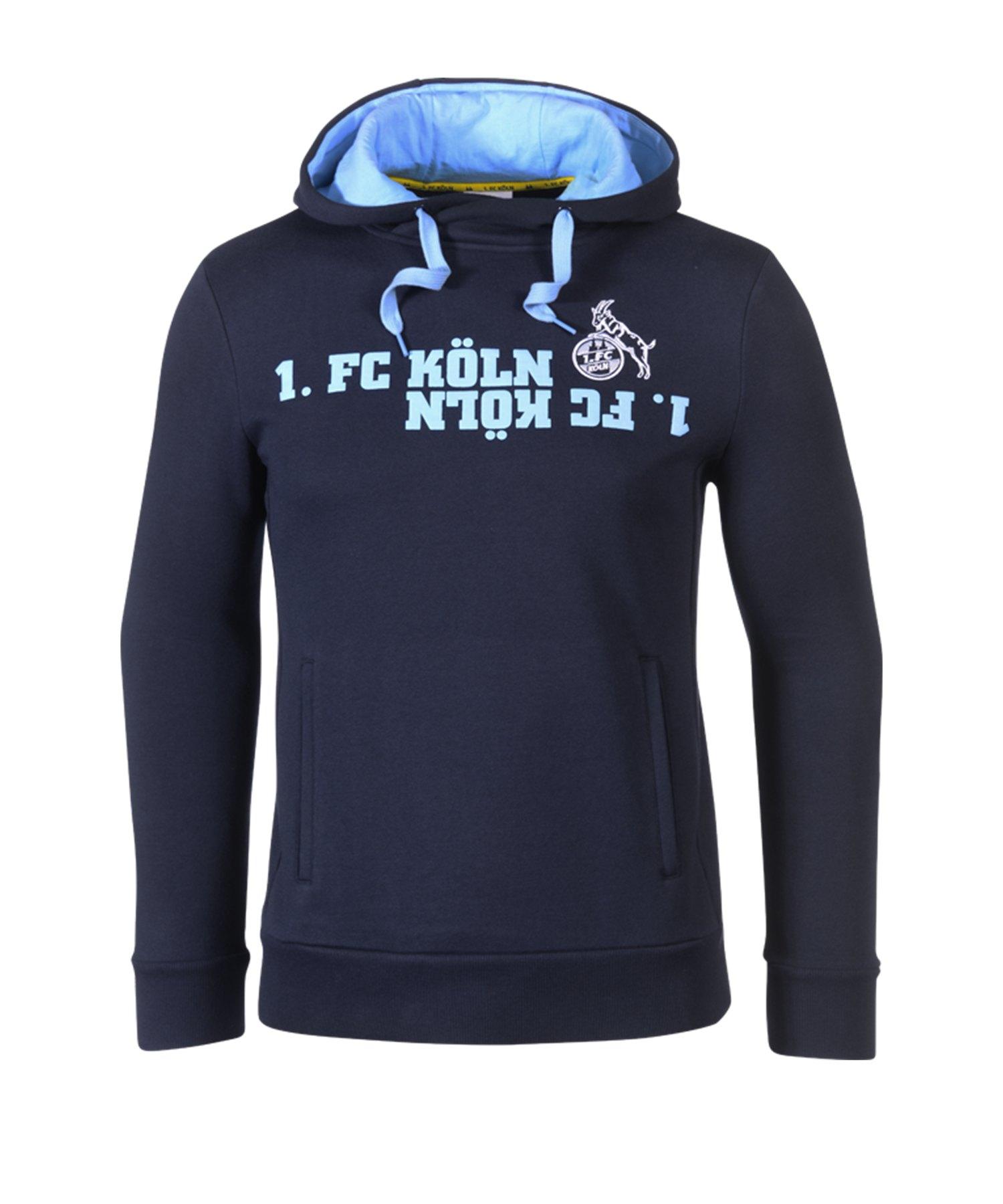 Uhlsport 1. FC Köln Kapuzensweatshirt 19/20 Blau - blau