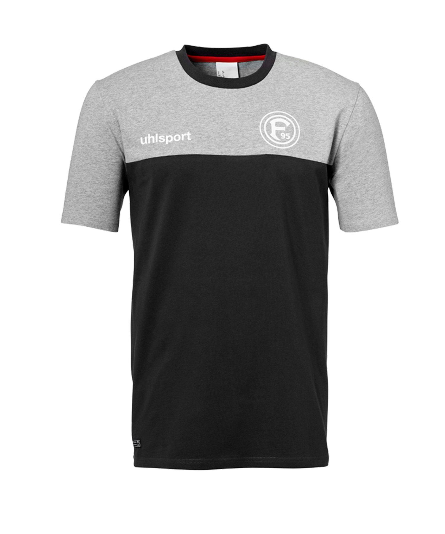 Uhlsport Fortuna Düsseldorf T-Shirt 2019/2020 Grau - grau