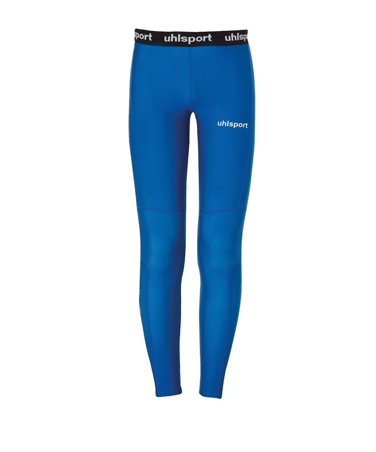 Uhlsport Pro Long Tights Hose Kids Blau F03 - Blau