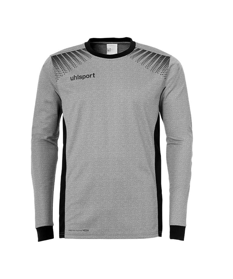 Uhlsport Torwarttrikot Goal Kinder Grau Schwarz F12 - grau