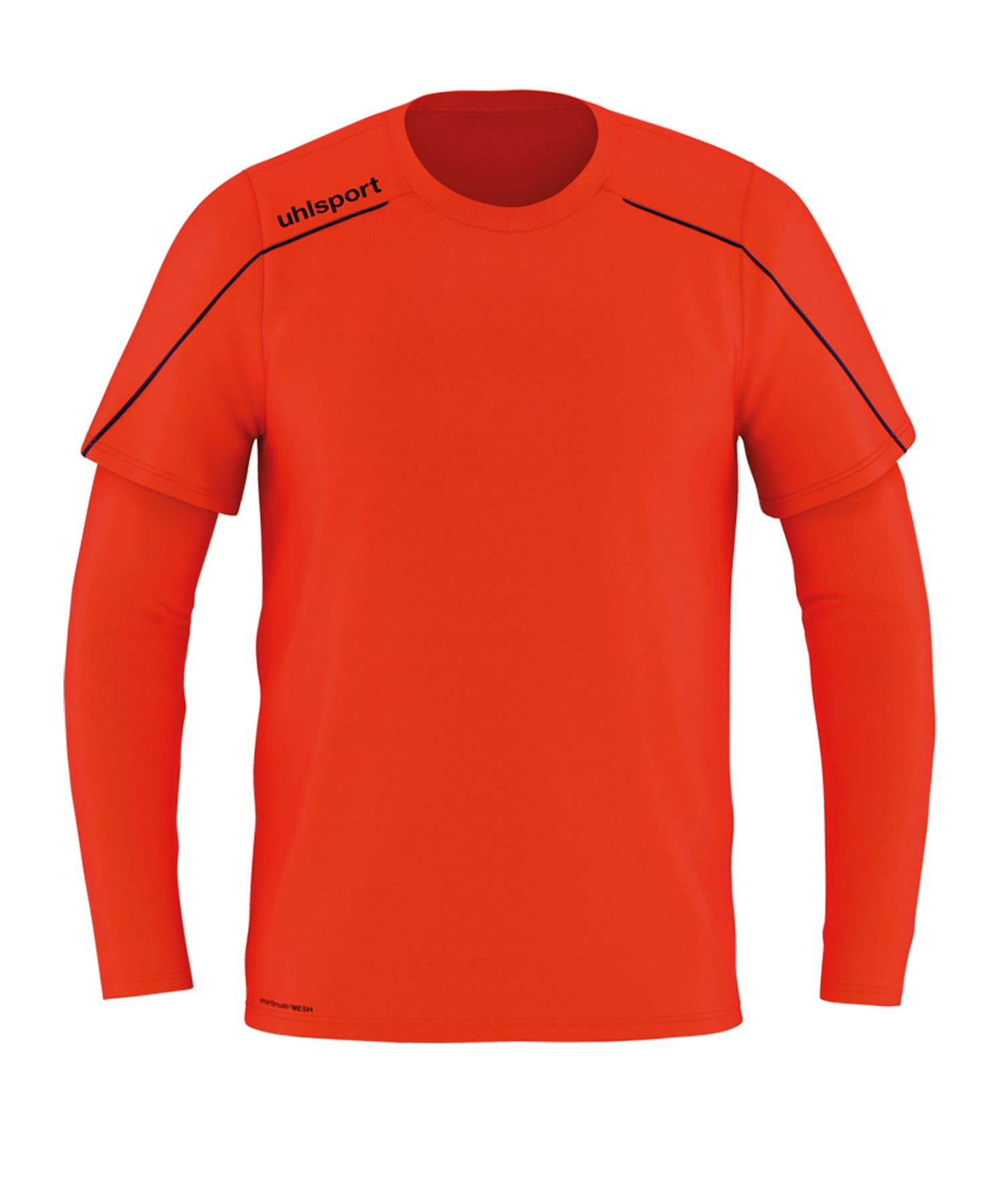 Uhlsport Stream 22 Torwarttrikot langarm Rot F02 - rot