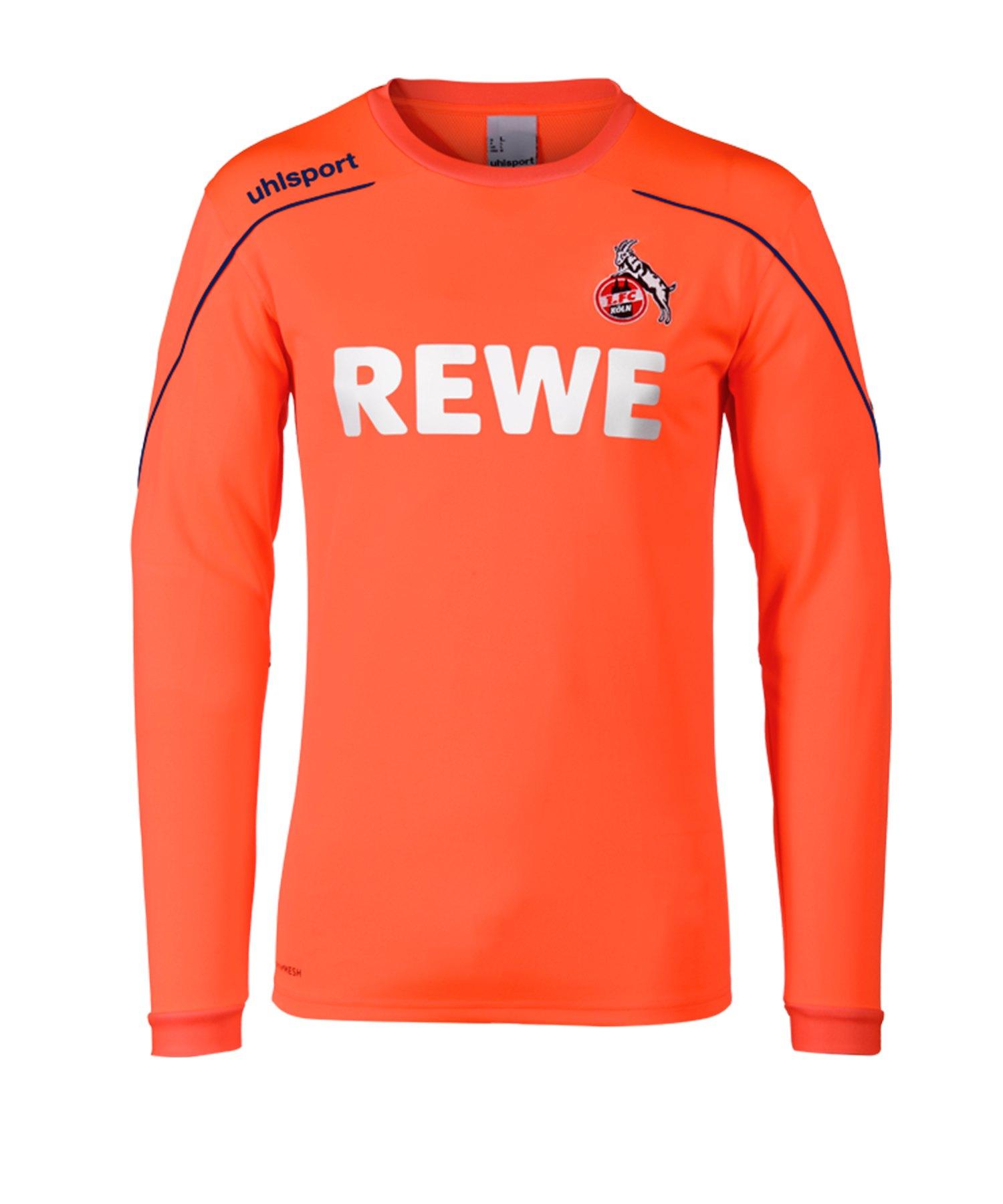 Uhlsport 1. FC Köln Torwarttrikot 2019/2020 Orange - orange