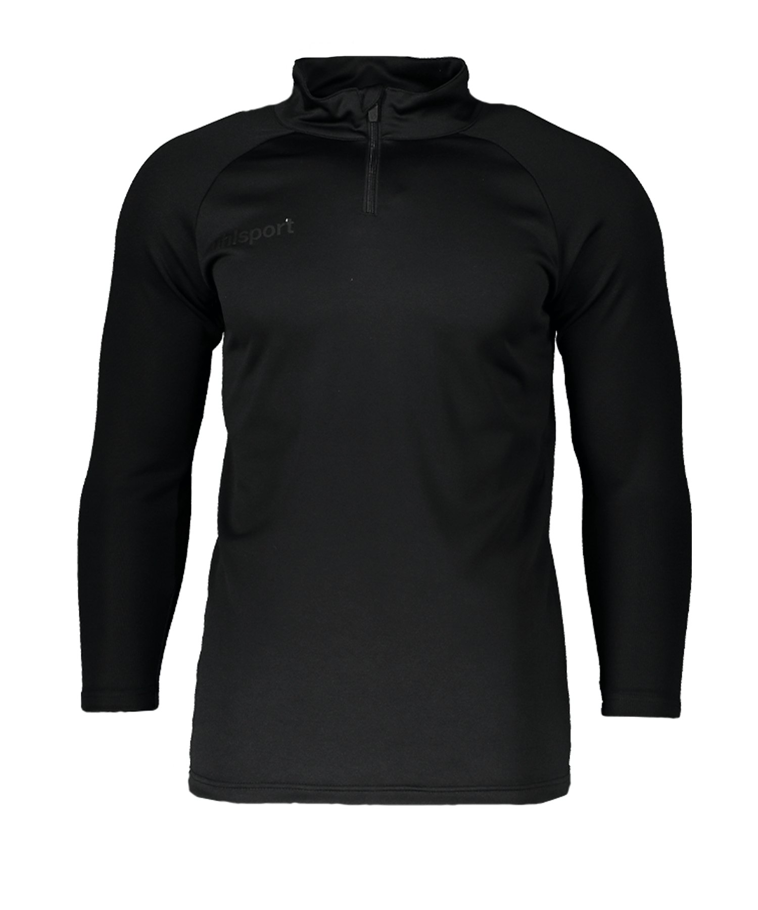 Uhlsport Goalkeeper 1/4 Ziptop Schwarz F01 - schwarz