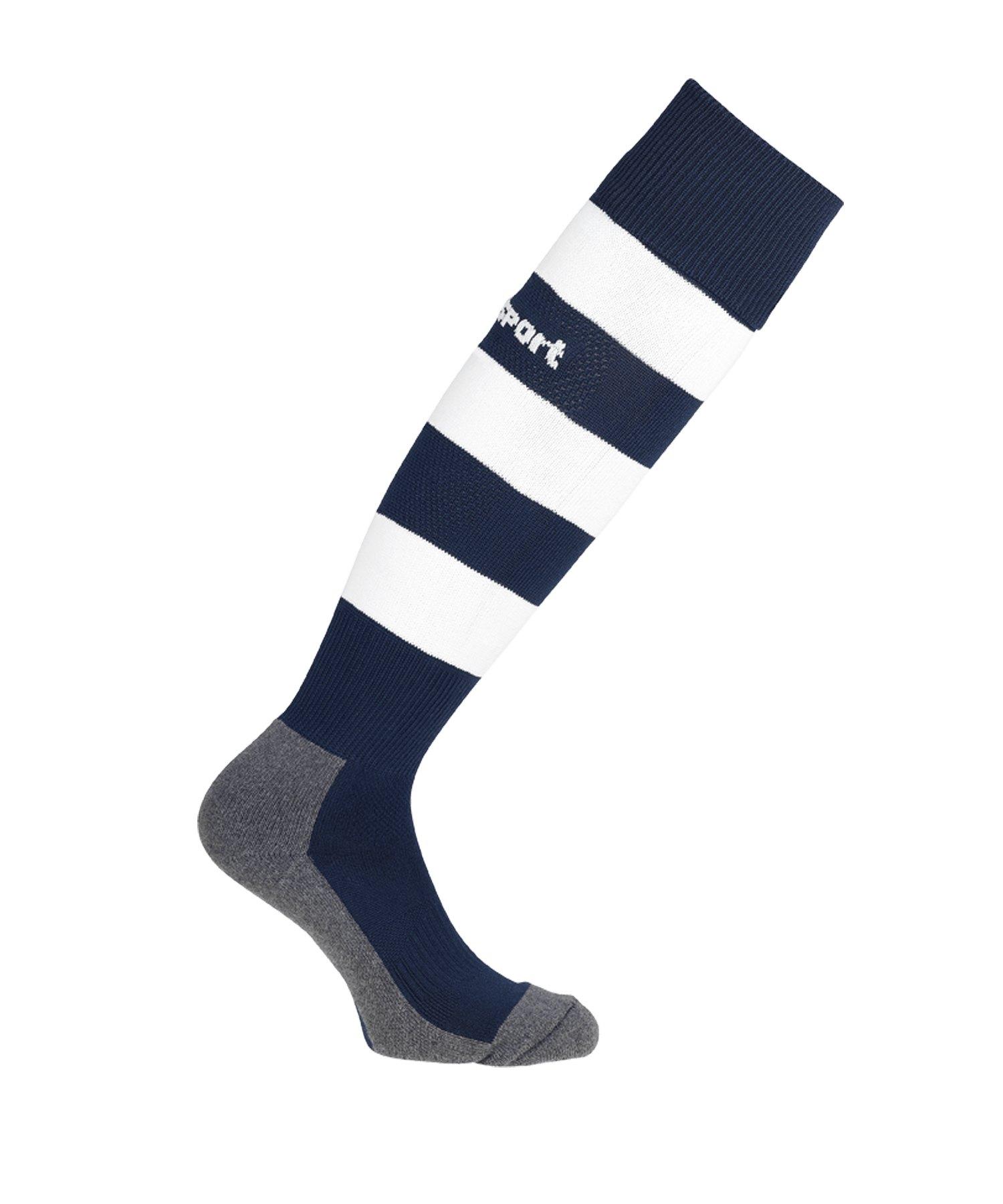 Uhlsport Team Pro Stripe Stutzenstrumpf Blau F04 - blau